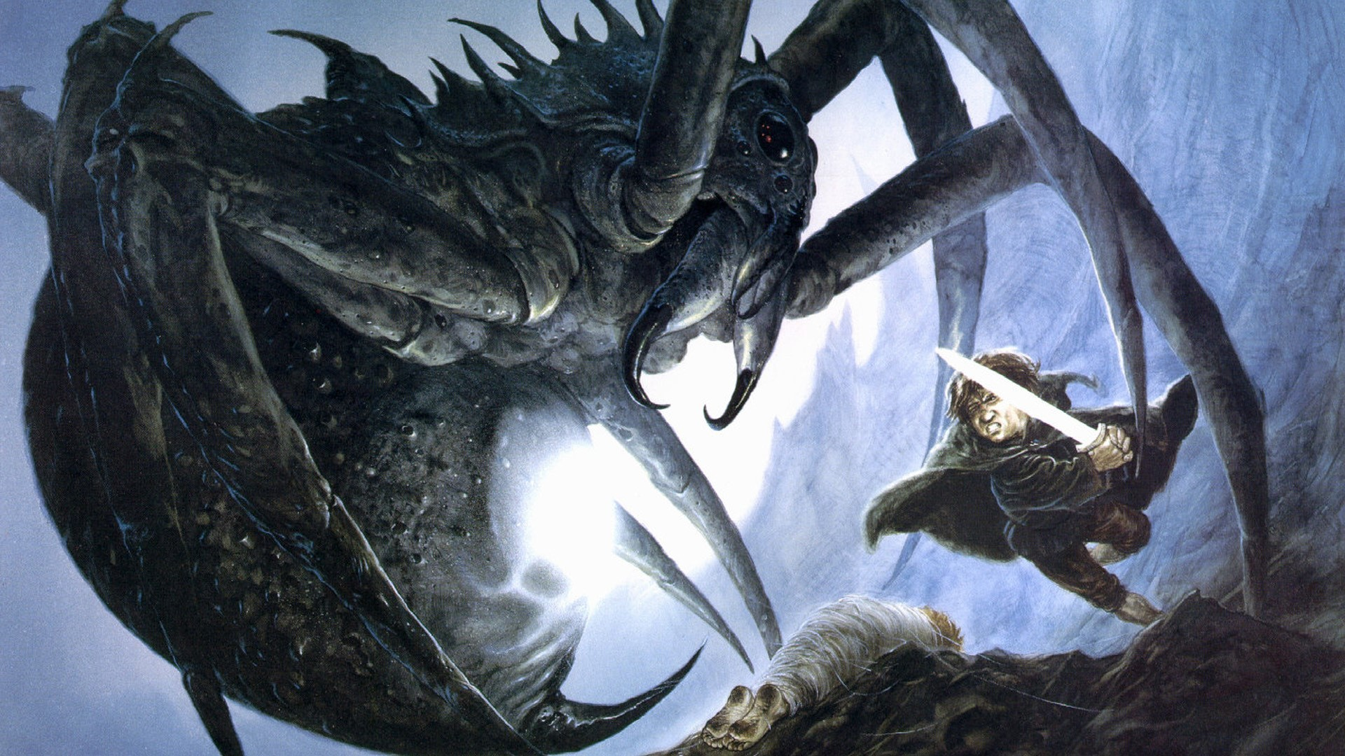 Res: 1920x1080, j r r_ tolkien the lord of the rings shelob samwise gamgee wallpaper and  background