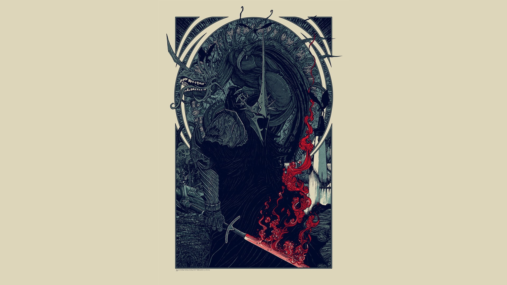 Res: 1920x1080, j r r_ tolkien nazgl the lord of the rings fantasy art wallpaper and  background