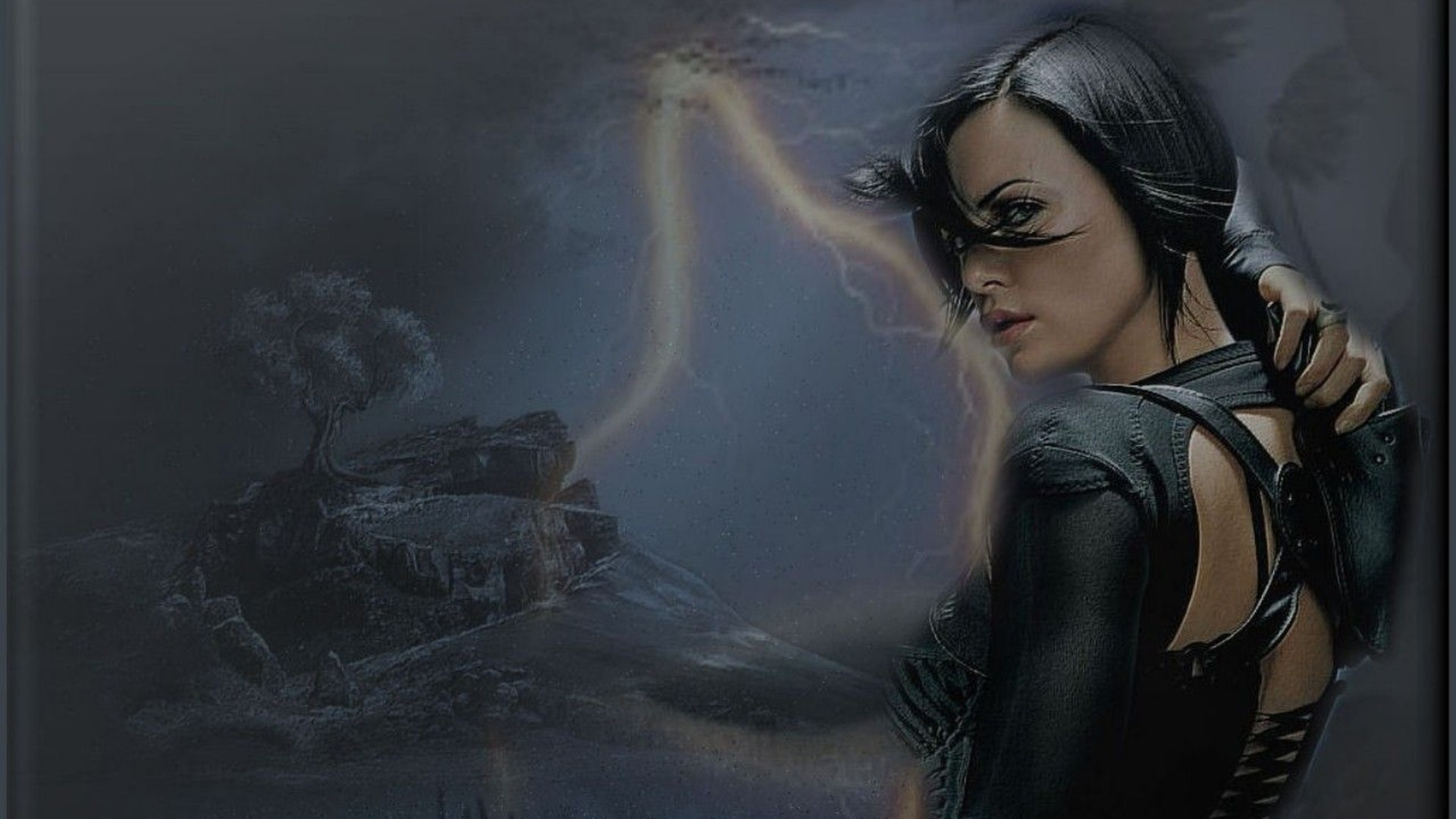 Res: 1920x1080, Movie - Aeon Flux Charlize Theron Wallpaper