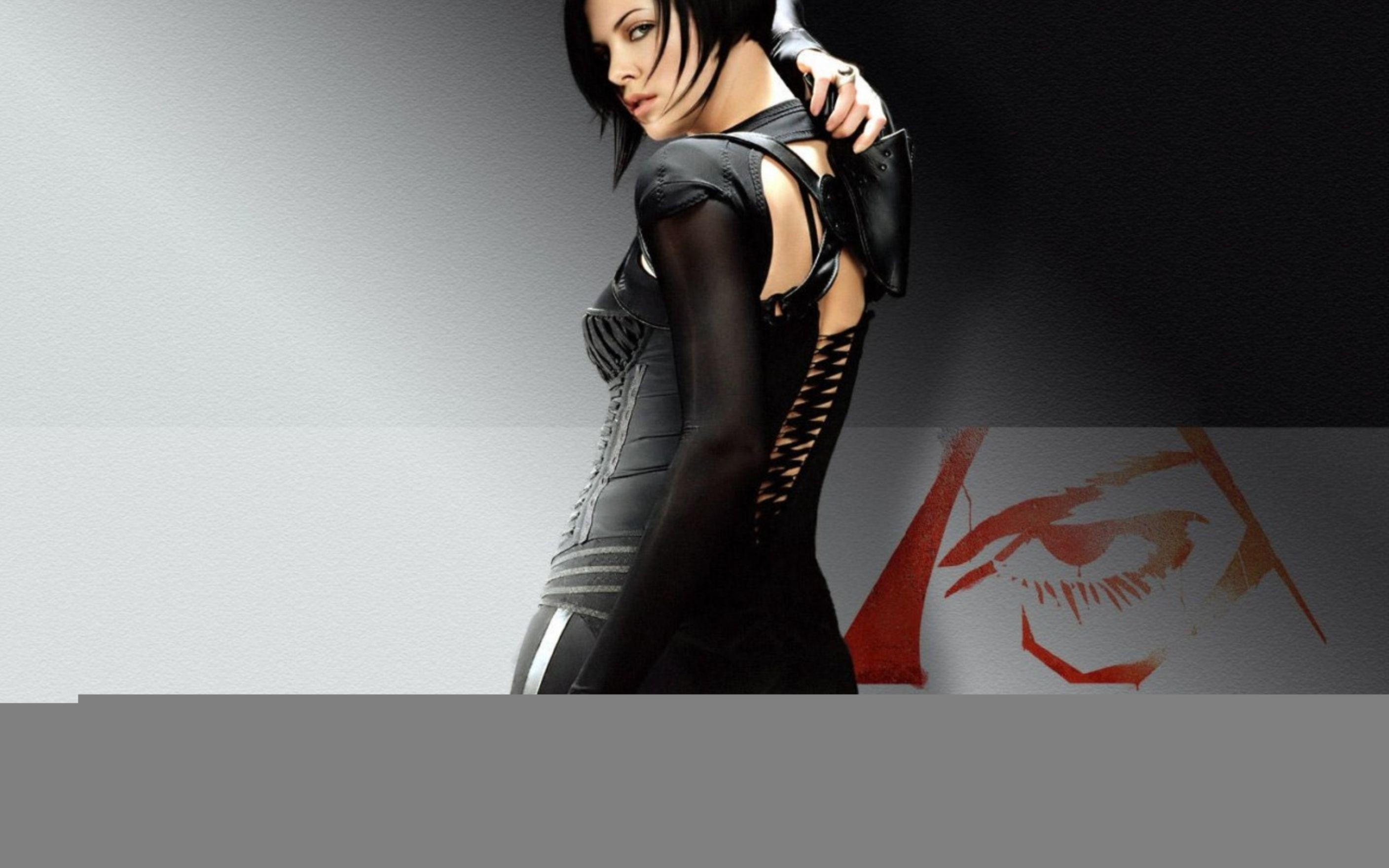 Res: 2816x1760, Charlize Theron in Aeonflux Wallpaper