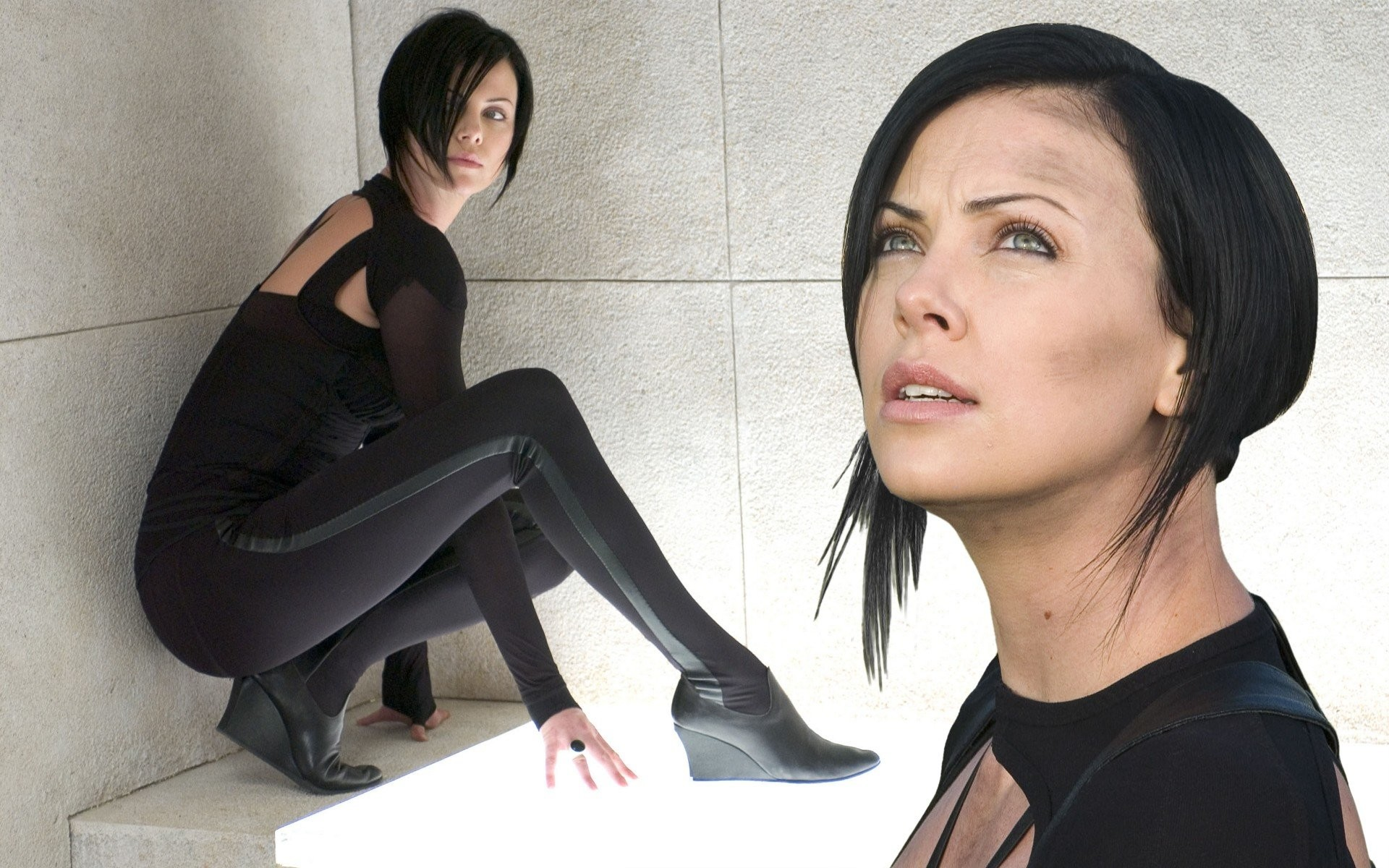 Res: 1920x1200, charlize theron aeon flux haircut