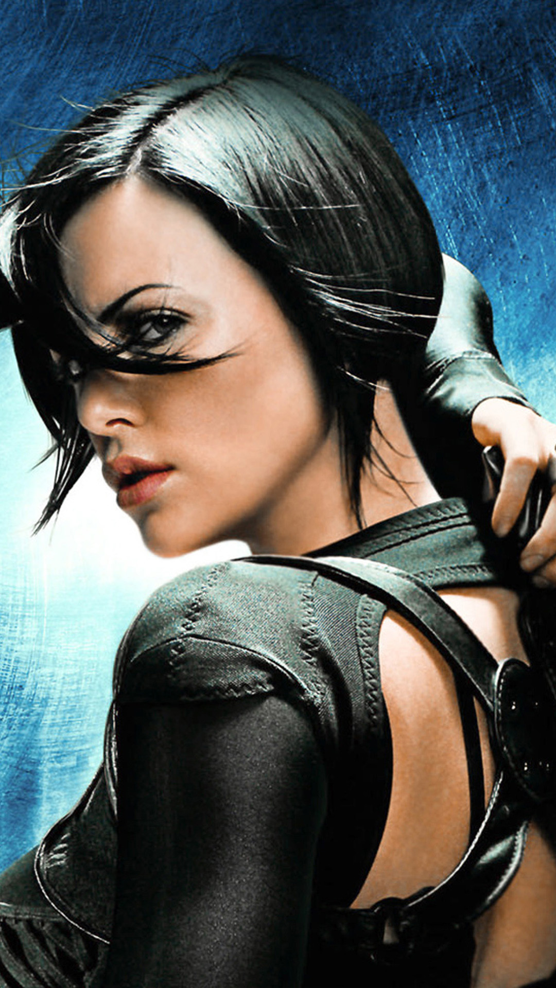 Res: 1080x1920, Charlize Theron Aeon Flux