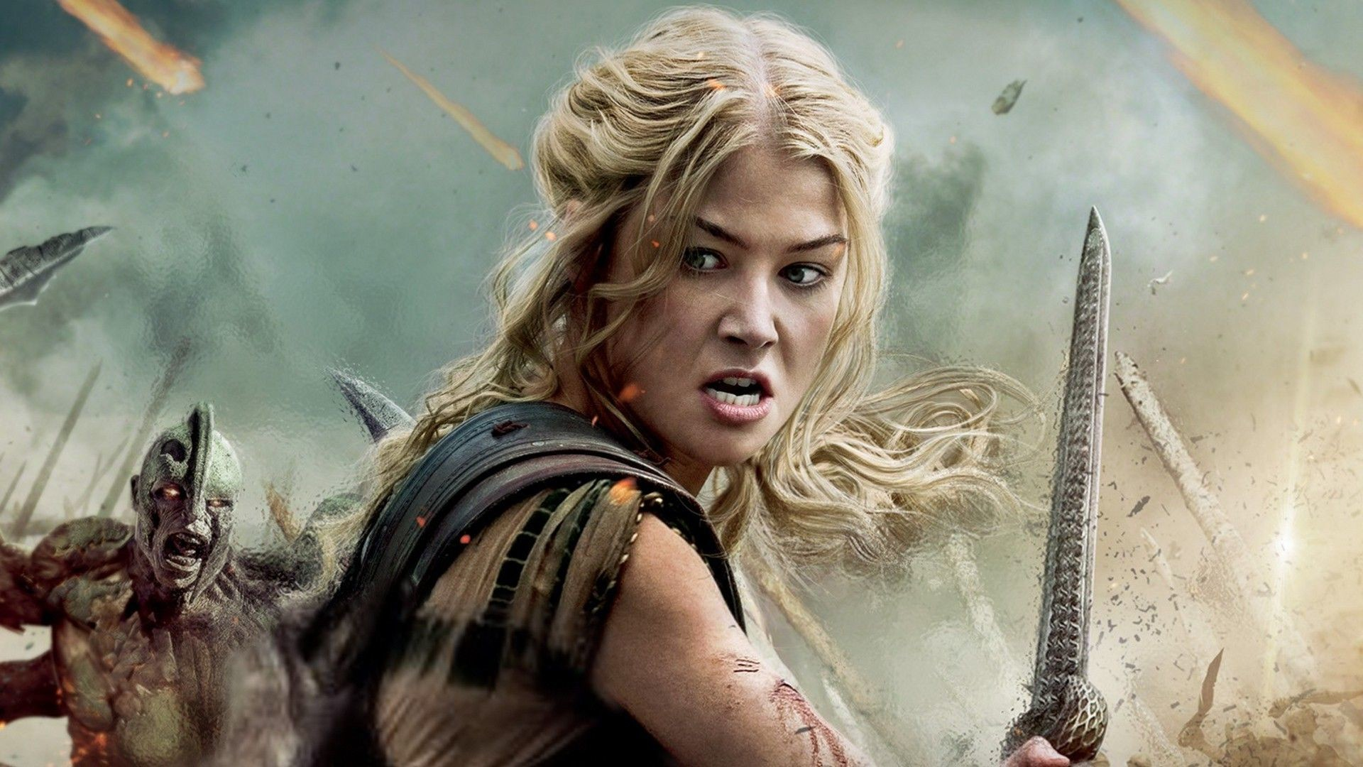Res: 1920x1080, aeon flux with sword | rosamund pike wrath of titans wallpapers categories  movies added .