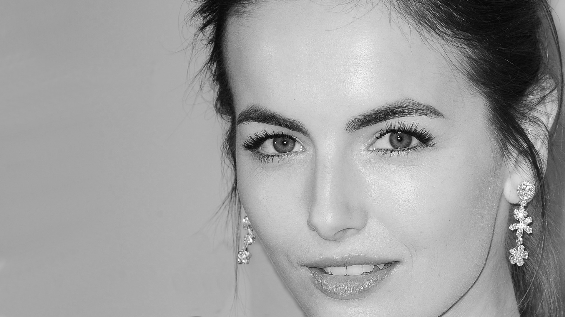 Res: 1920x1080, ... Camilla Belle Black and White by Levan27