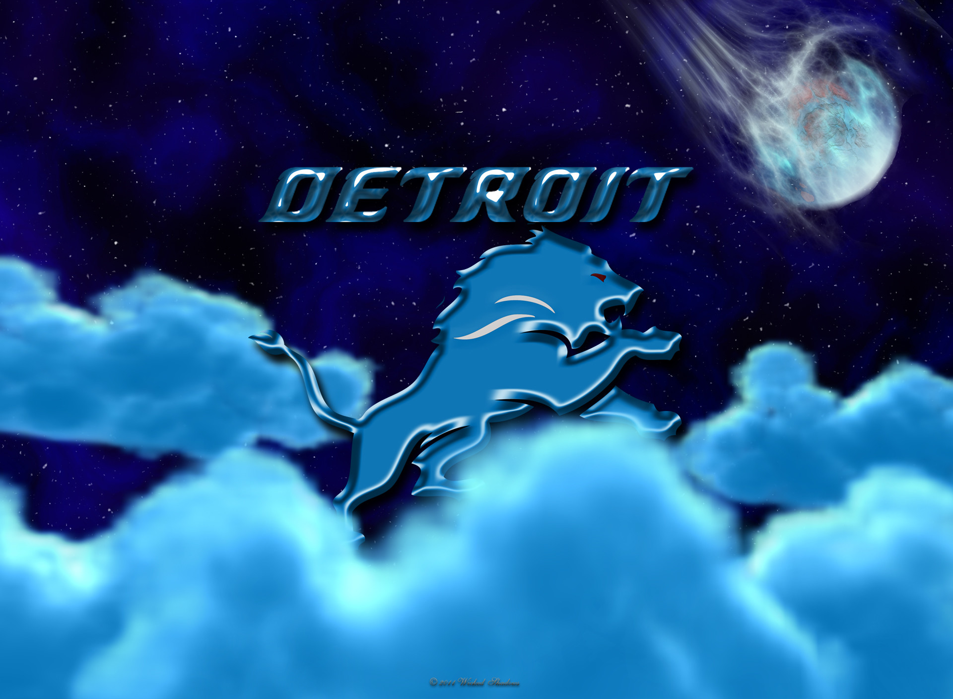Res: 1920x1408, Detroit Lions Above The Clouds wallpaper
