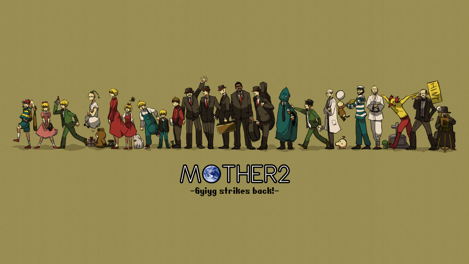 Res: 1920x1080, Mother 3 HD Wallpapers 13 - 1920 X 1080