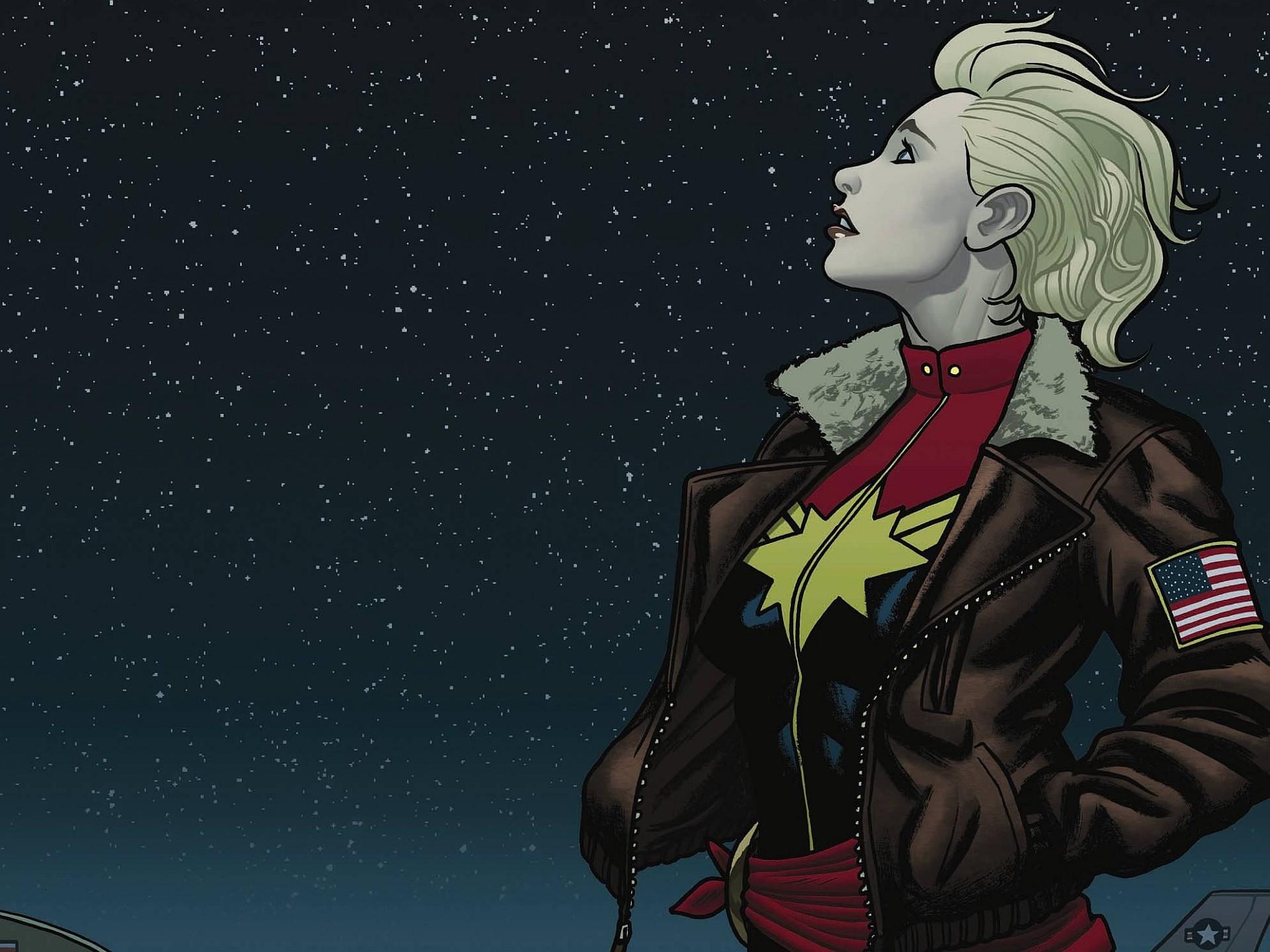 Res: 1920x1440, Comics - Captain Marvel Wallpaper