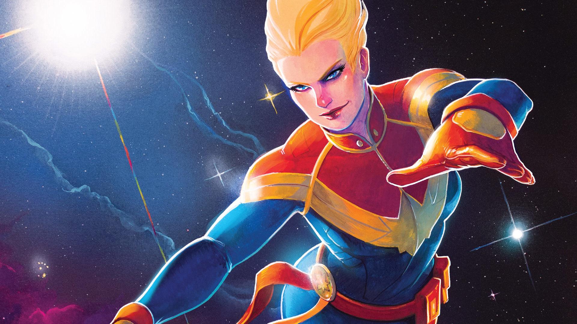 Res: 1920x1080, Comics - Captain Marvel Carol Danvers Wallpaper
