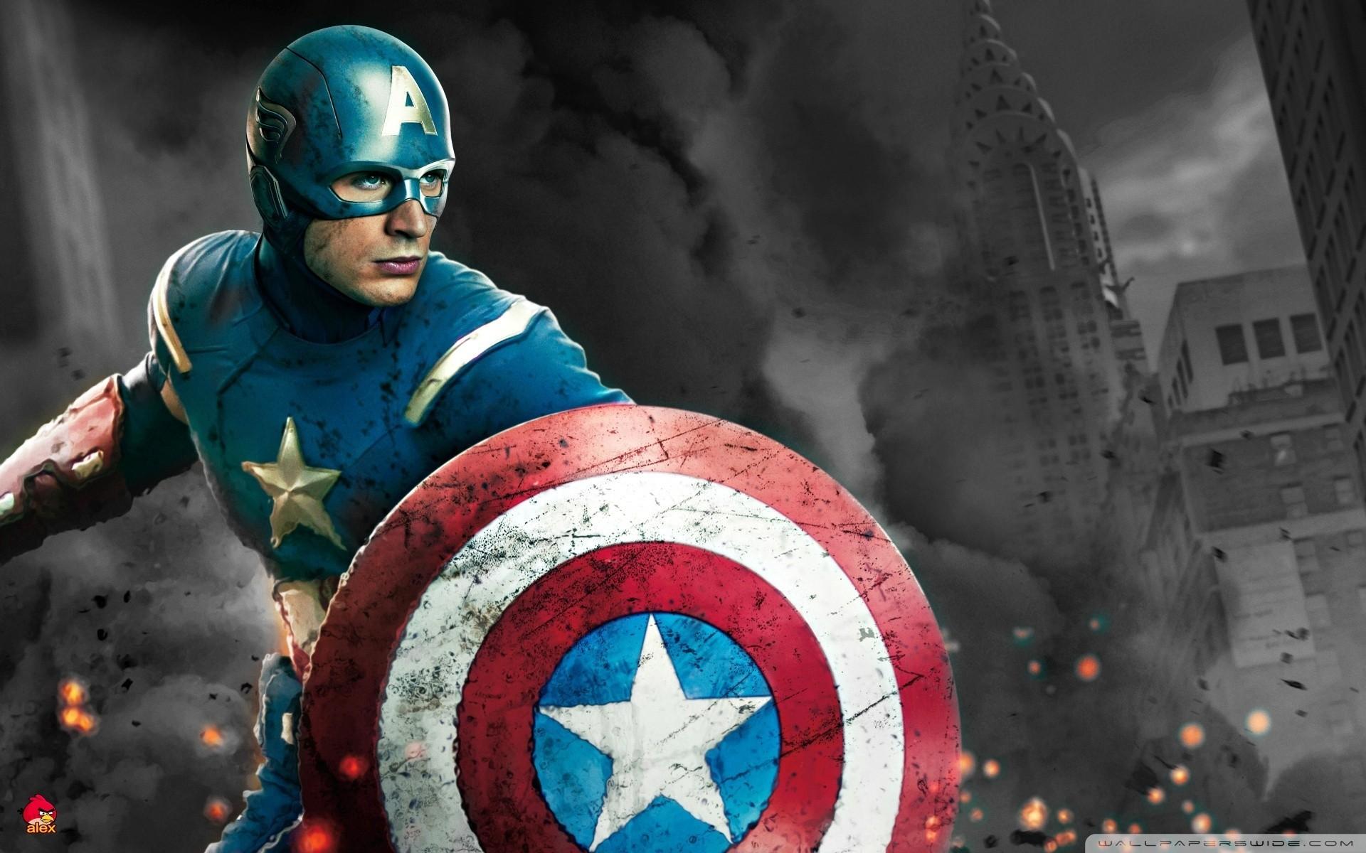 Res: 1920x1200, Captain America Chris Evans Avengers
