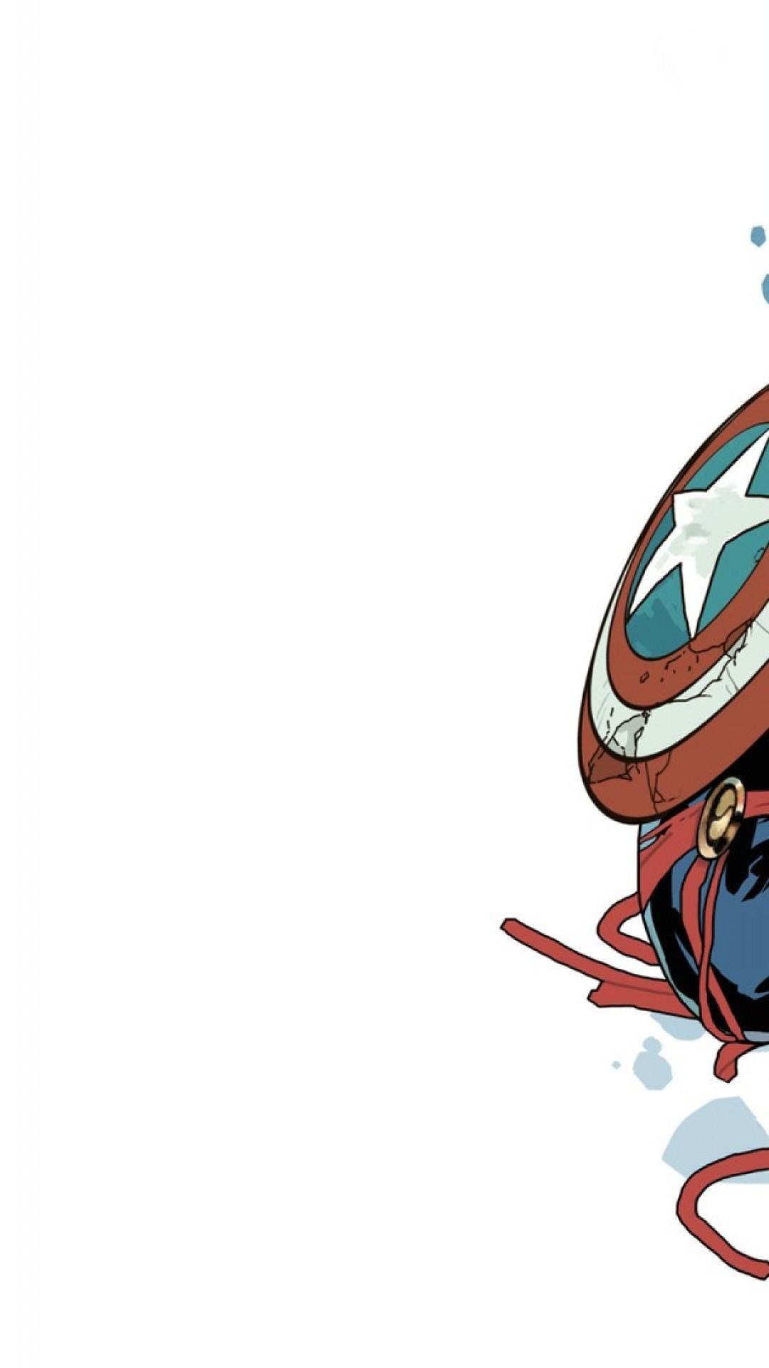 Res: 1080x1920, iPhone 7 Plus Captain Marvel Wallpaper
