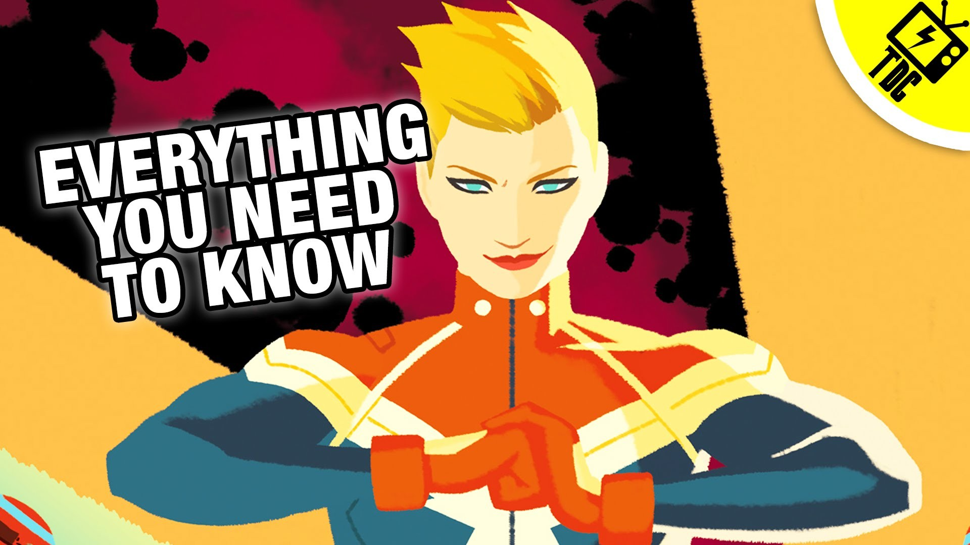Res: 1920x1080, Captain Marvel: Everything You Need to Know! (The Dan Cave w/ Dan Casey) -  YouTube
