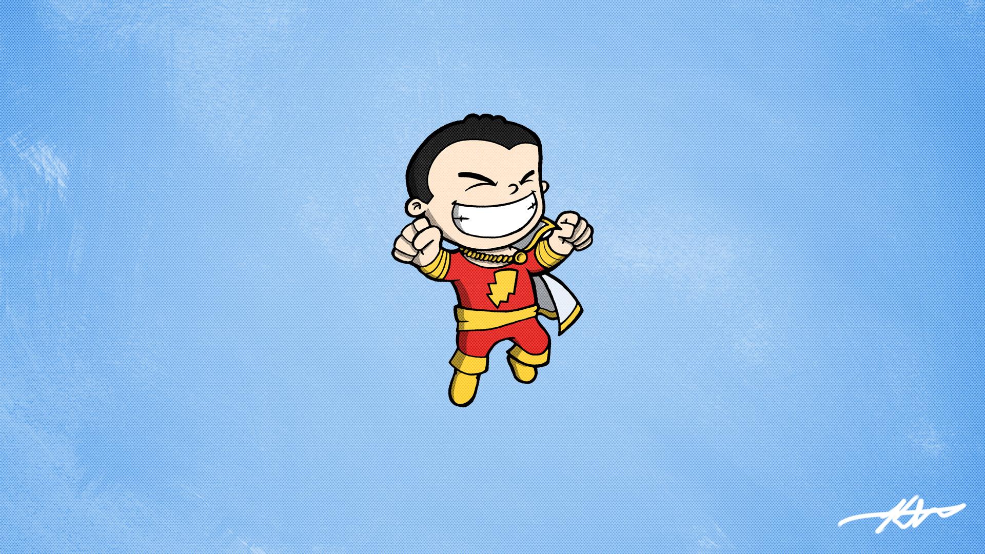Res: 1920x1080, Captain Marvel (Shazam) Wallpaper I drew []