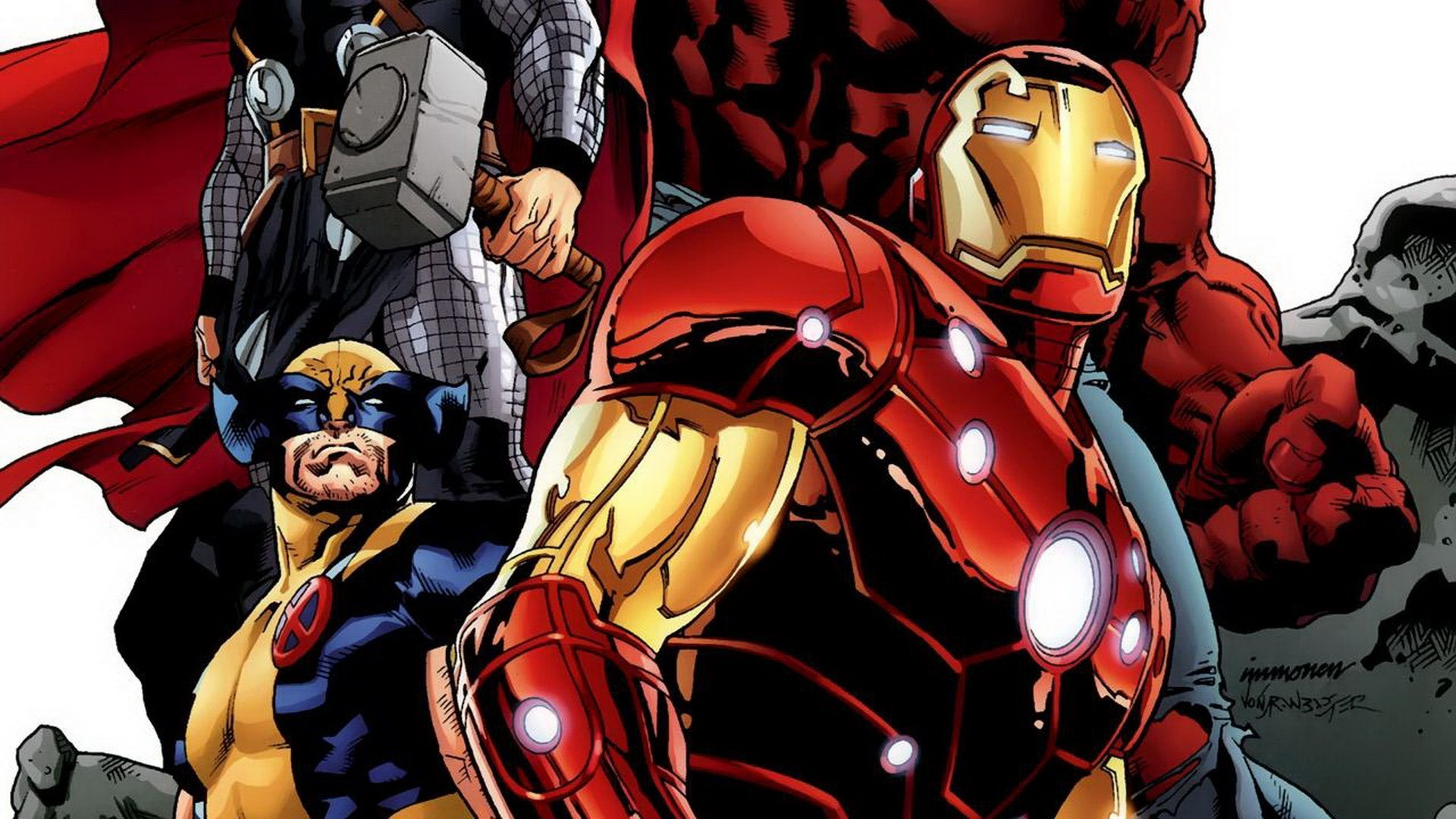 Res: 1920x1080, Iron Man comic cartoon wallpapers PixelsTalk Apps Marvel Iron Man Comic  Wallpapers Android Wickedsa The Death Of Captain Marvel Comic Wallpapers ...
