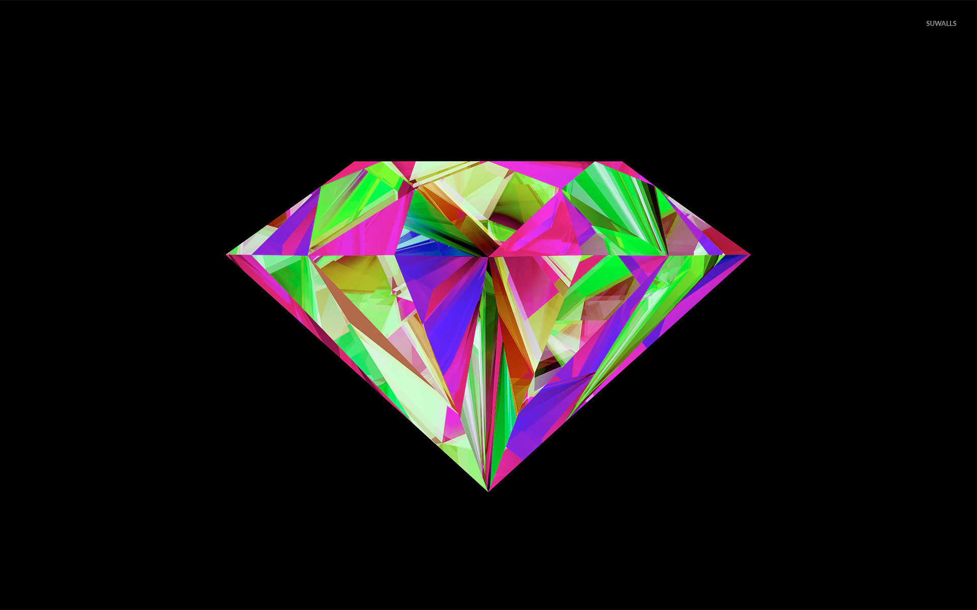 Res: 1920x1200, Colorful diamond wallpaper