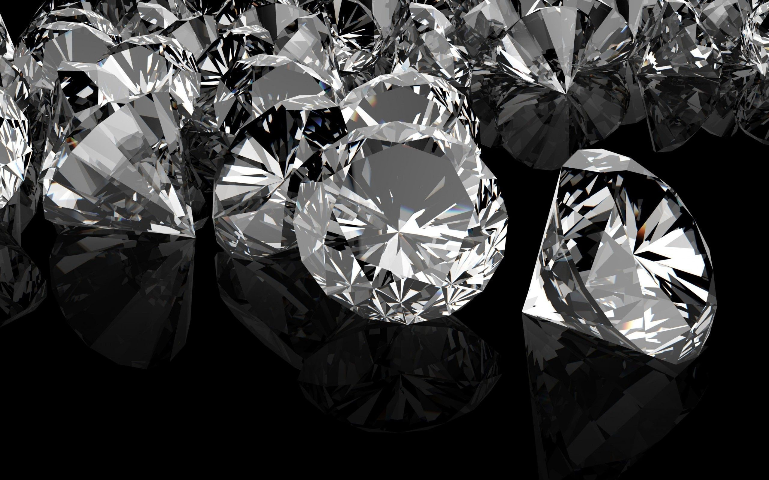 Res: 2560x1600, Black Diamond Wallpaper HD.