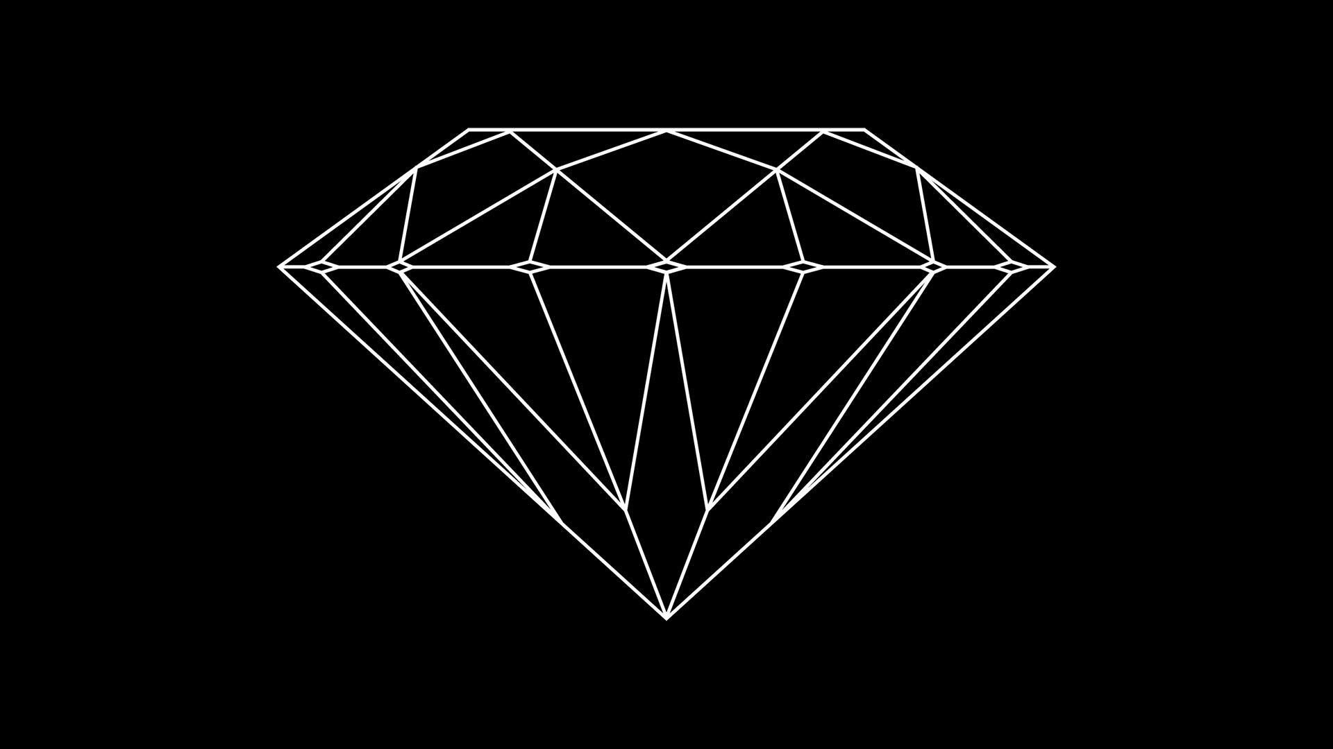 Res: 1920x1080, 17 Best ideas about Diamond Wallpaper on Pinterest   Black