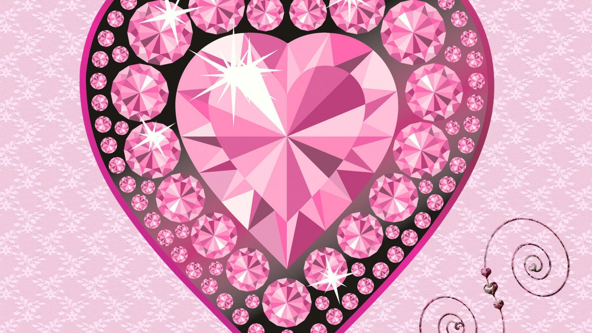 Res: 2048x1152, Widescreen-Diamond-Wallpaper-Cool-Image-Pink-Picture.jpg