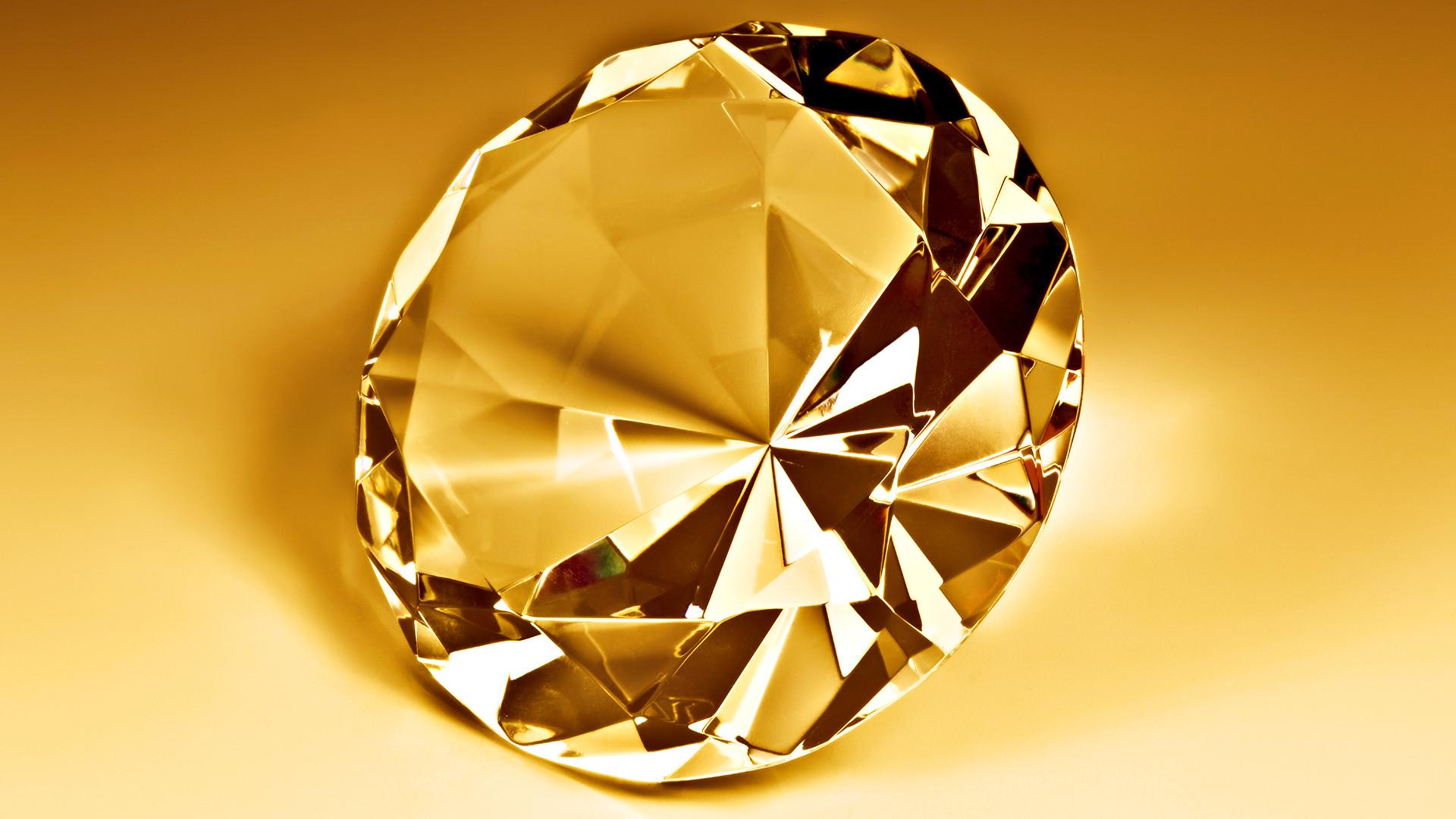 Res: 1920x1080, Gold Diamond Wallpaper 48967