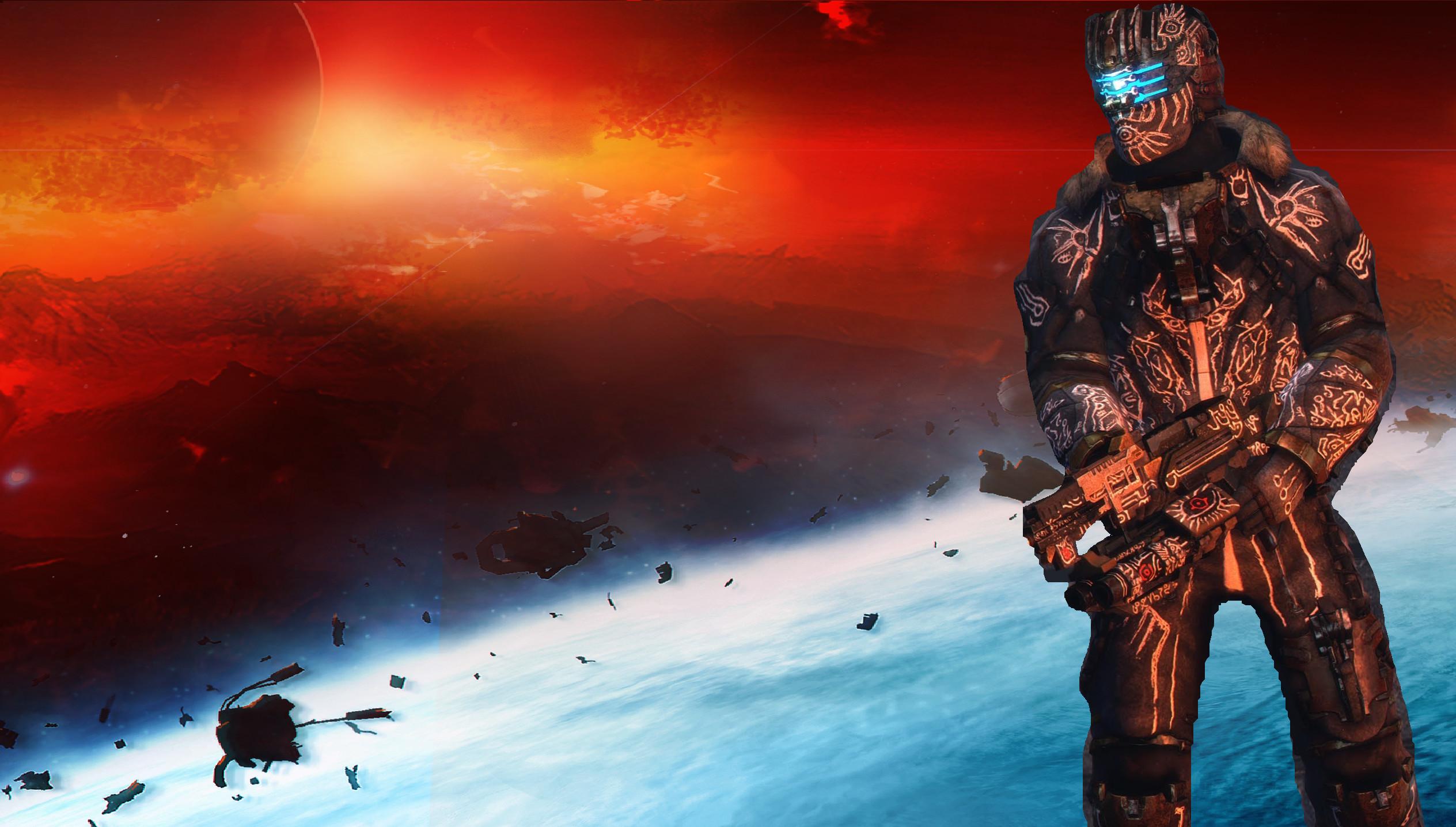 Res: 2528x1436, Dead Space 3 Suits N7