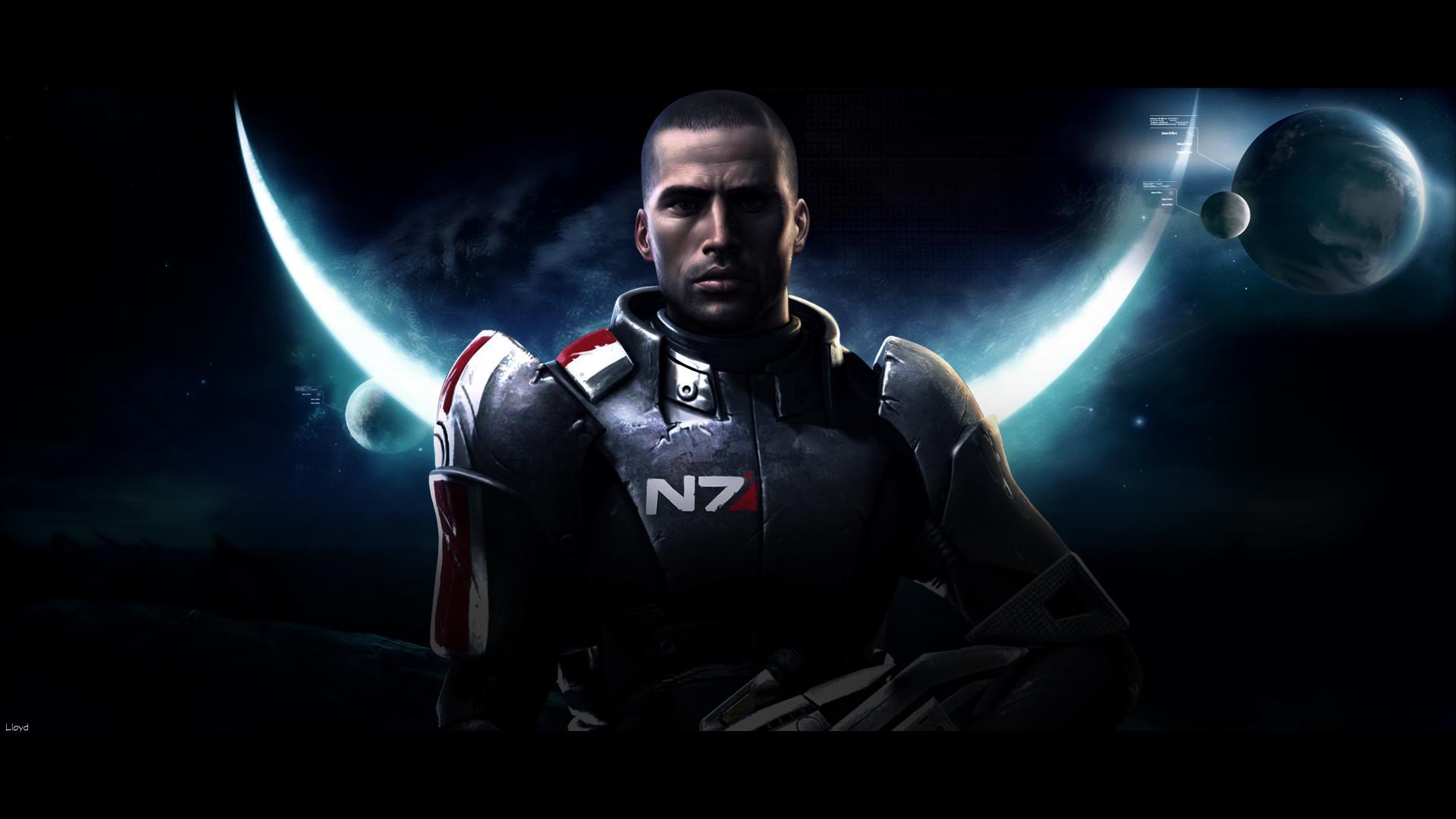 Res: 1920x1080, Mass Effect 3 N7 wallpaper
