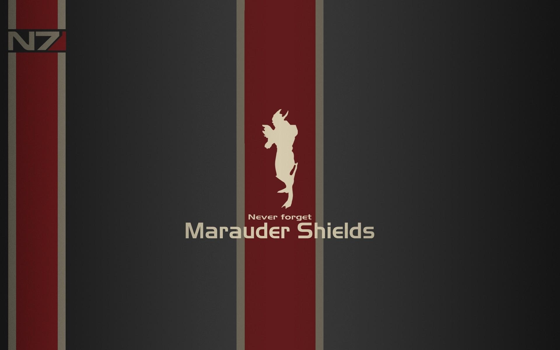 Res: 1920x1200, Never forget n7 mass effect 3 marauder shields Wallpaper