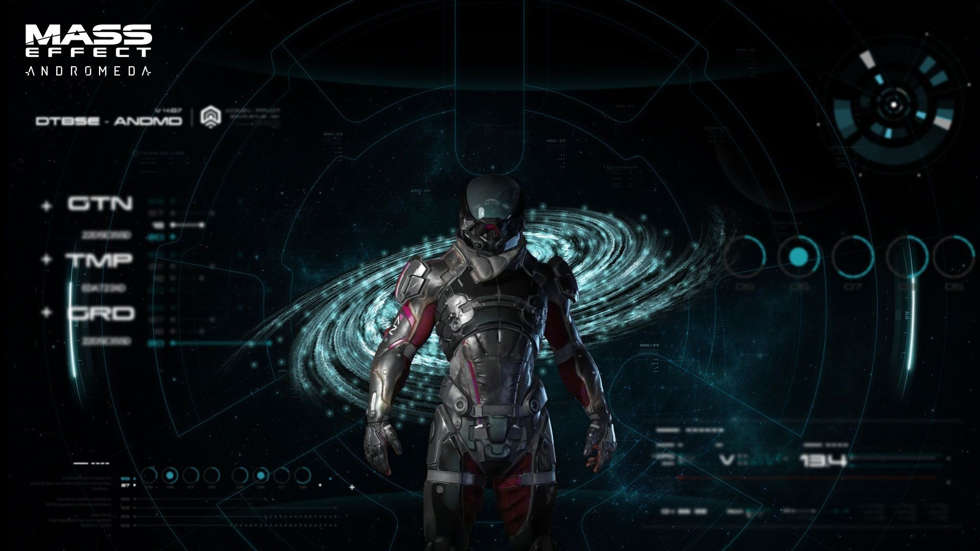 Res: 1920x1080, Mass Effect 4, Mass Effect Andromeda, Game, Character wallpaper thumb