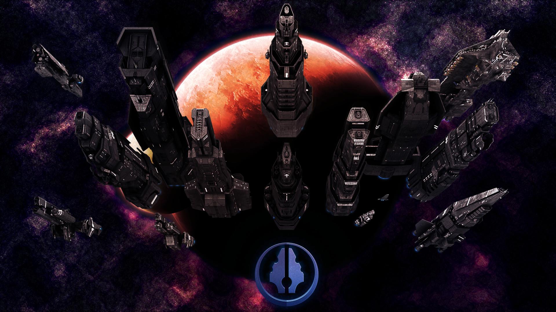 Res: 1920x1080, UNSC Fleet by Annihilater102 UNSC Fleet by Annihilater102