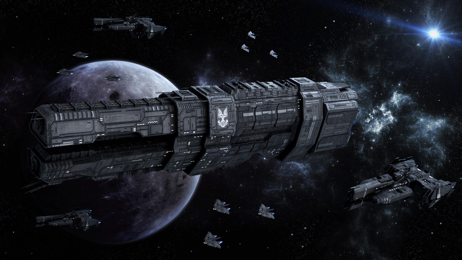 Res: 1920x1080, Description Orion battle spaceshipjpg
