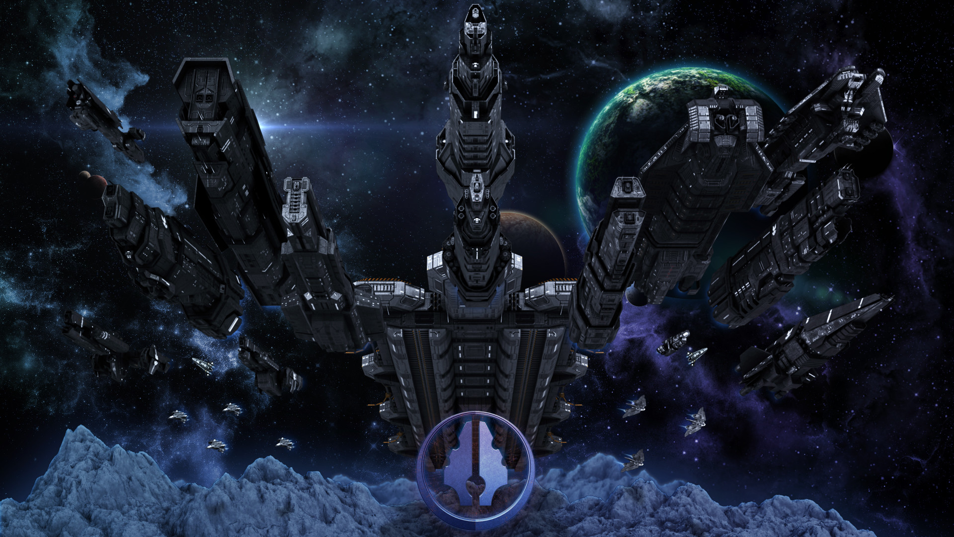 Res: 1920x1080, UNSC Fleet Complete by Annihilater102 UNSC Fleet Complete by Annihilater102