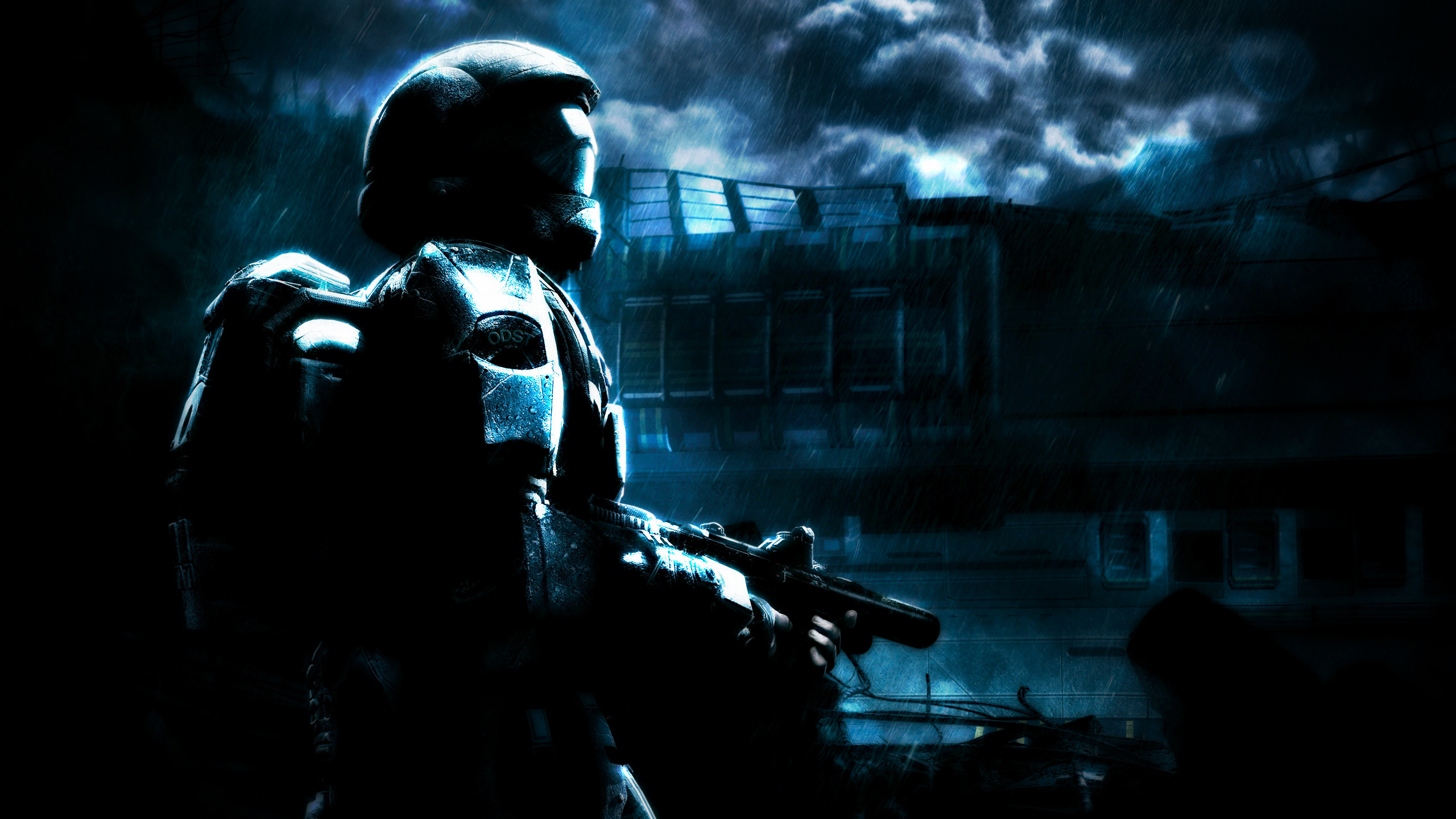 Res: 2560x1440, Halo 3: ODST HD Wallpapers