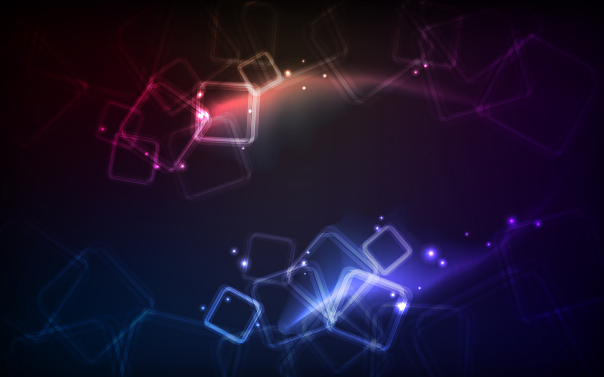 Res: 1920x1200, blue red colorful neon squares wallpaper
