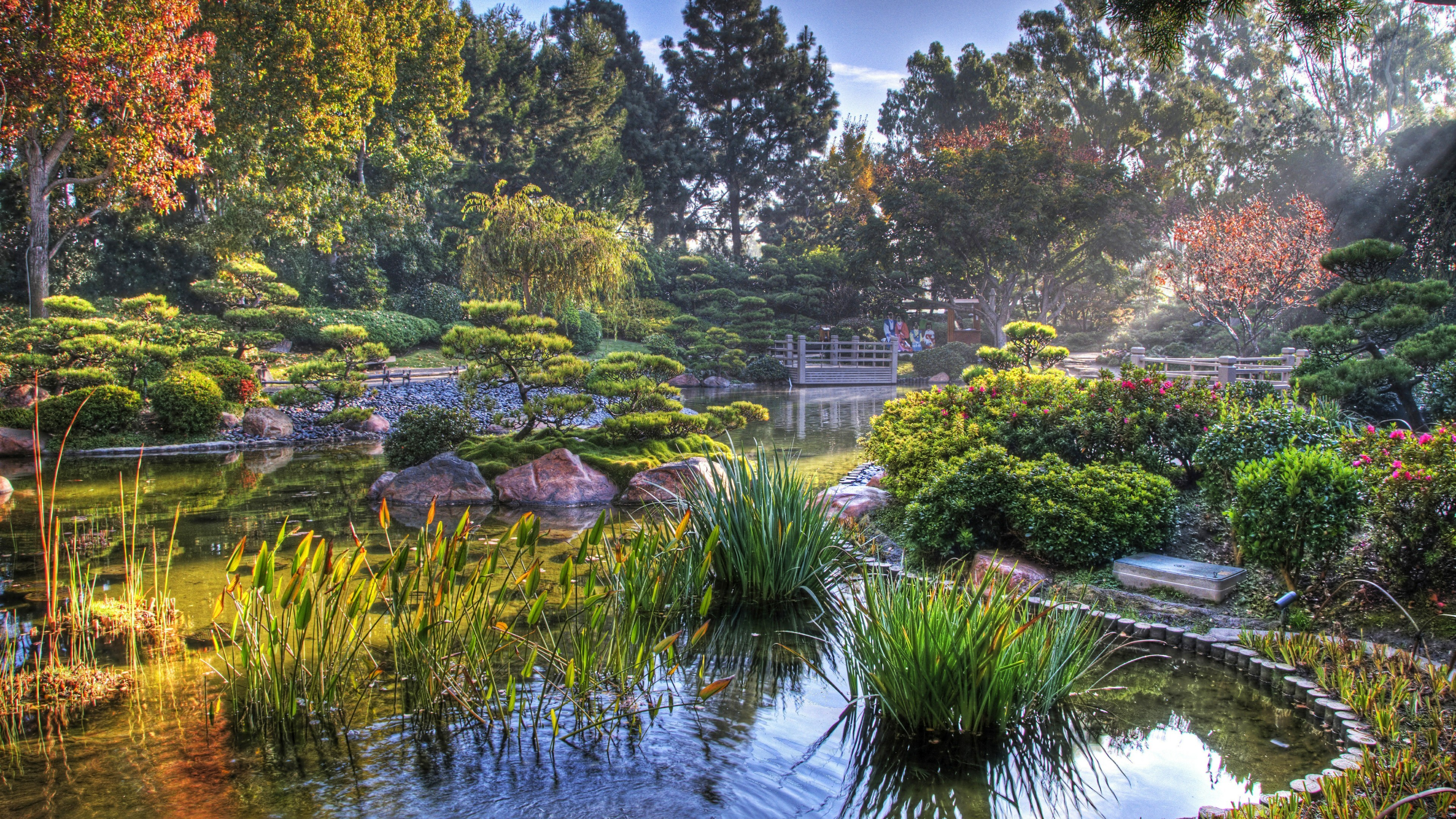 Res: 3840x2160, Earl Burns Miller Japanese Garden Wallpaper | Wallpaper Studio 10 | Tens of  thousands HD and UltraHD wallpapers for Android, Windows and Xbox