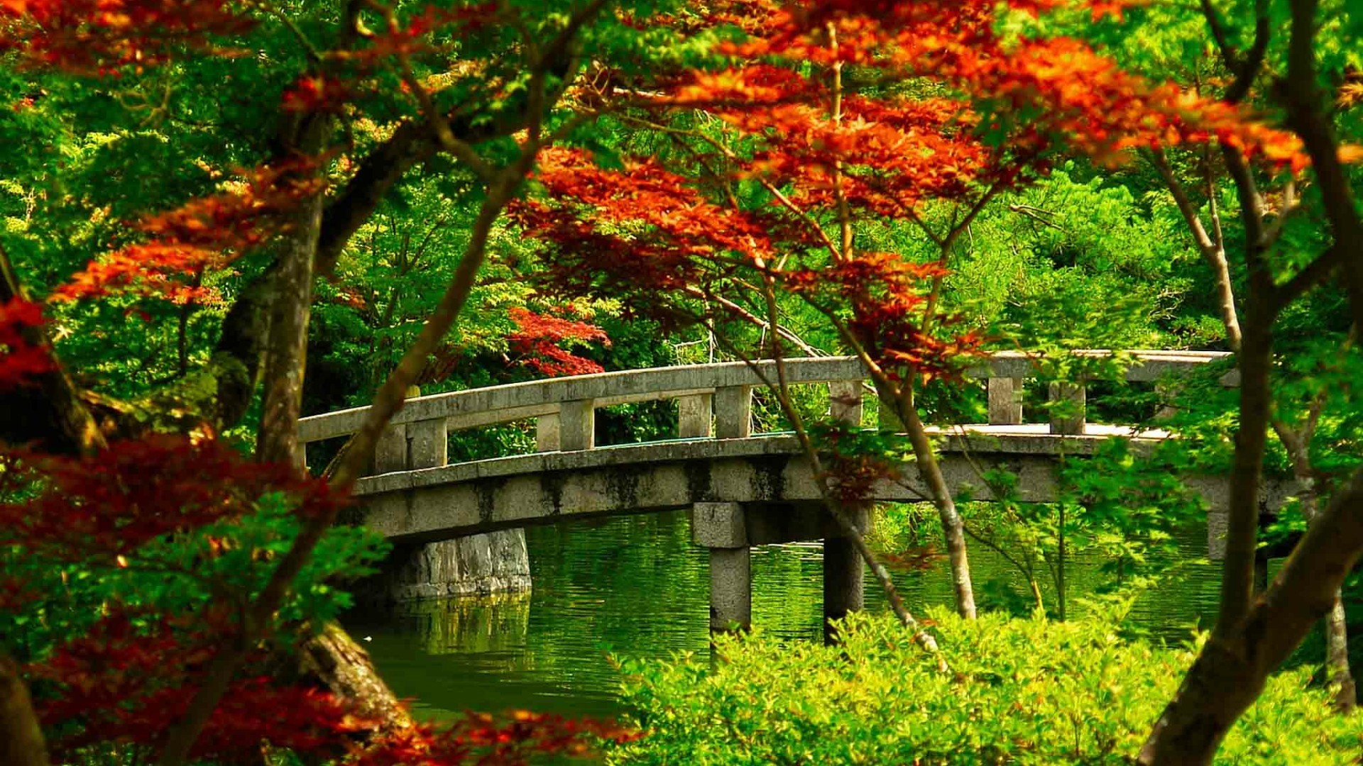 Res: 1920x1080, Japanese Garden Wallpaper | Wallpaper Studio 10 | Tens of thousands HD and  UltraHD wallpapers for Android, Windows and Xbox