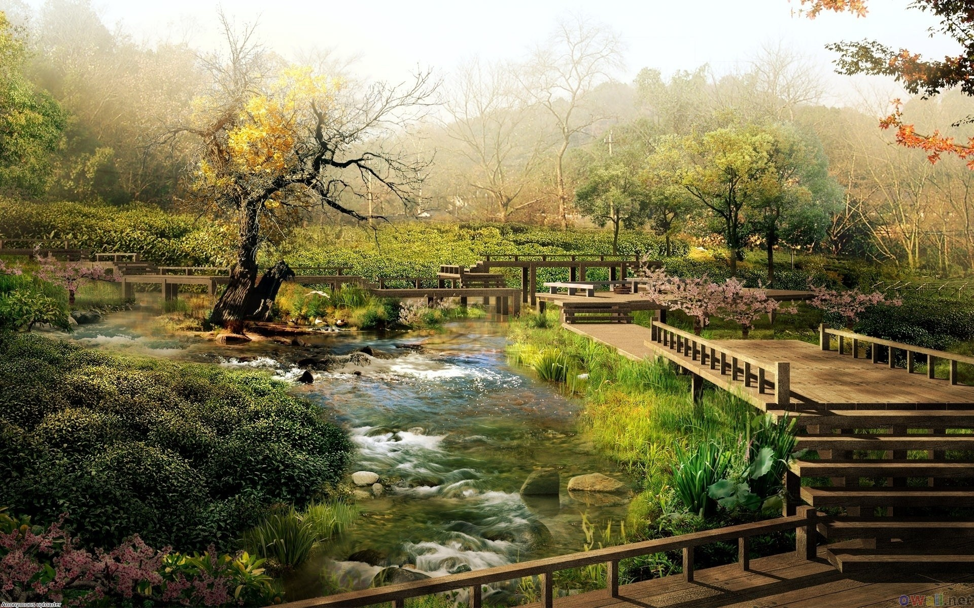 Res: 1920x1200, Japanese Garden Wallpapers 23 - 1920 X 1200