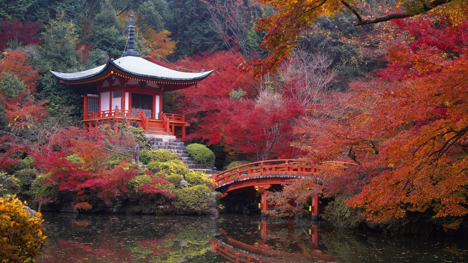 Res: 1920x1080, Japanese Garden · HD Wallpaper | Background Image ID:289526