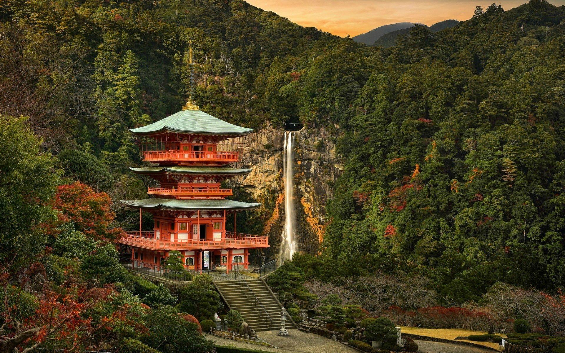 Res: 1920x1200, Remote Japanese Garden ...