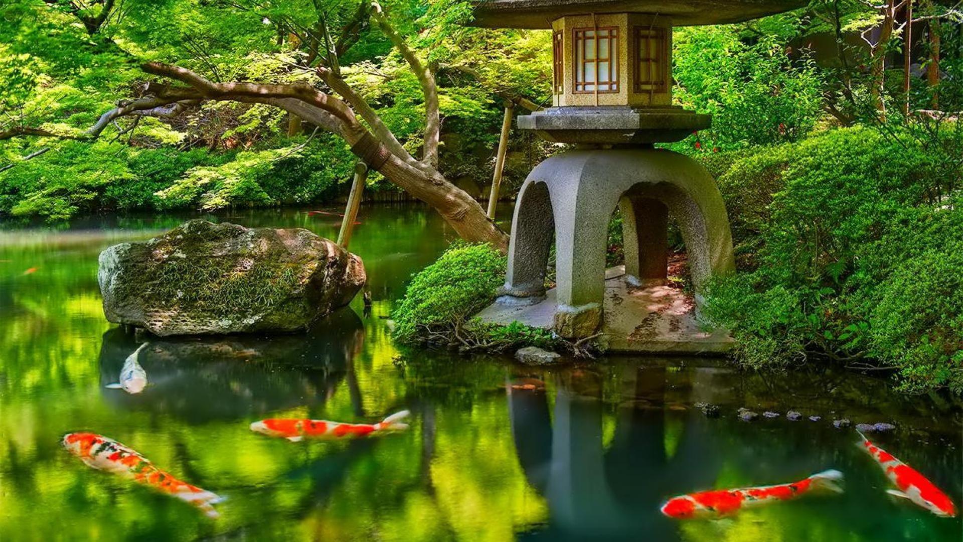 Res: 1920x1080, japanese garden wallpaper - Buscar con Google