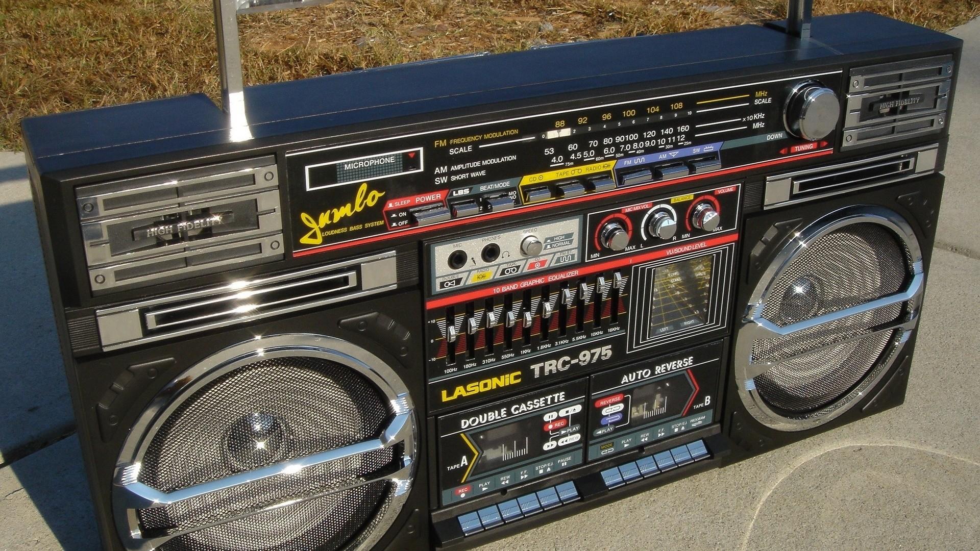 Res: 1920x1080, Hip Hop, Boombox
