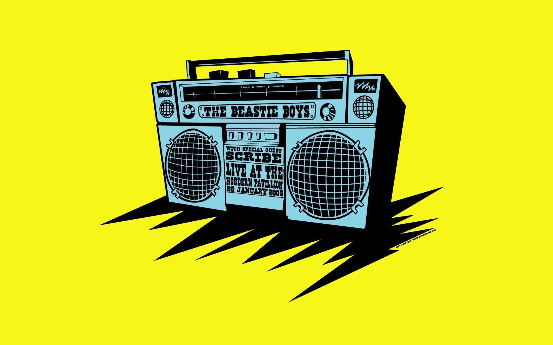 Res: 1920x1200, Music - Beastie Boys Wallpaper