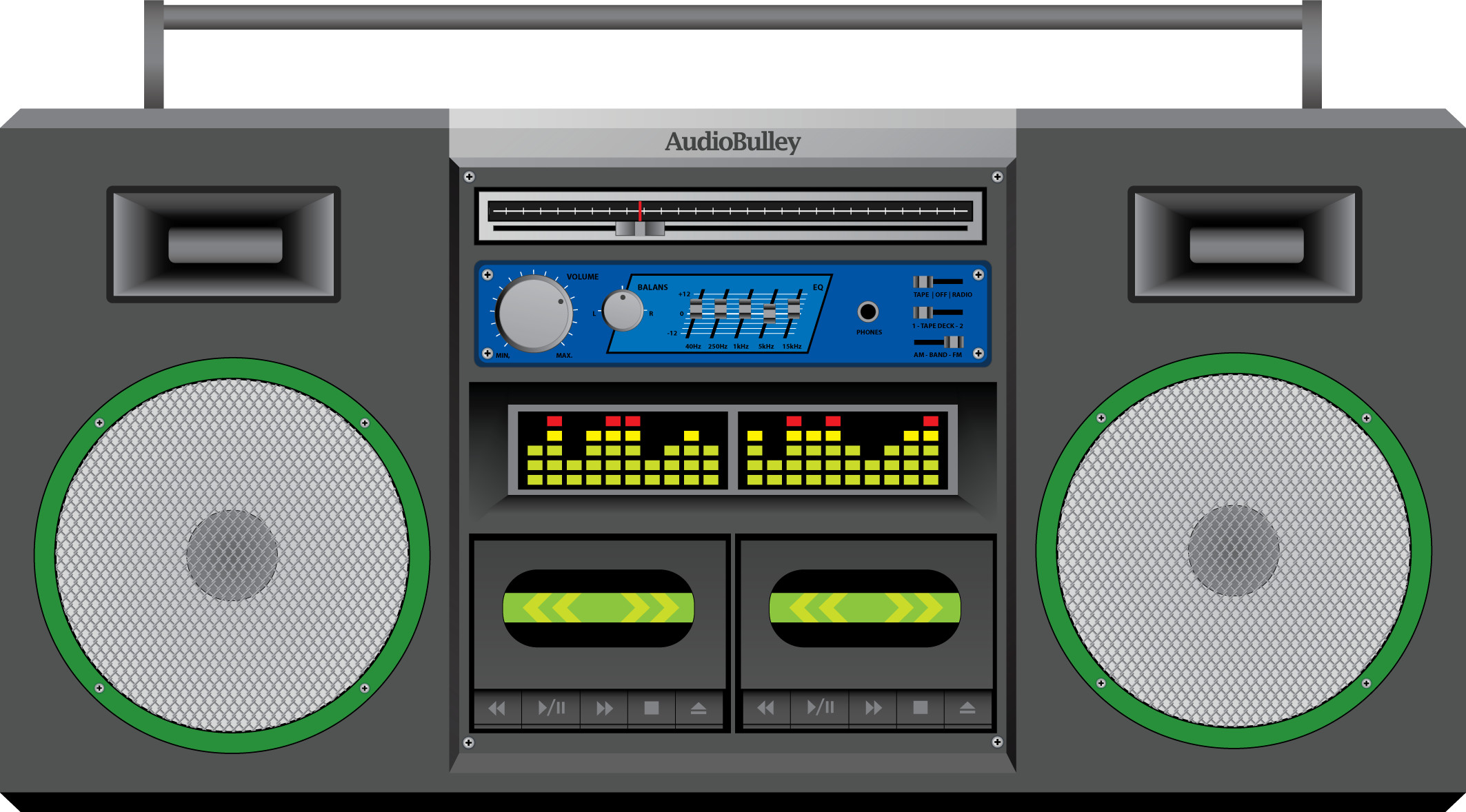 Res: 2126x1178, Boombox by N8N Boombox by N8N
