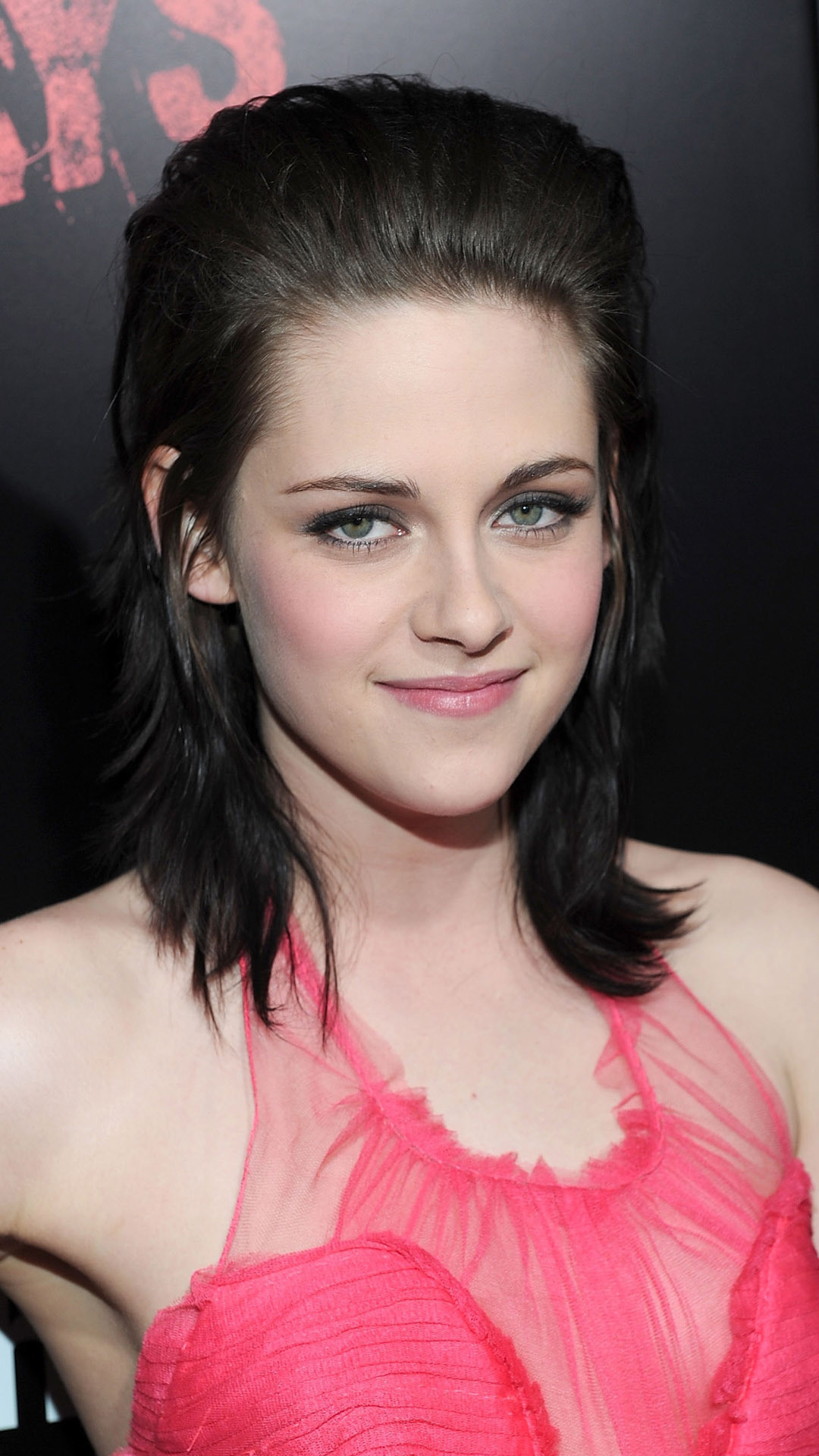 Res: 1080x1920, Lovely smile of kristen stewart iphone 6 full hq wallpapers
