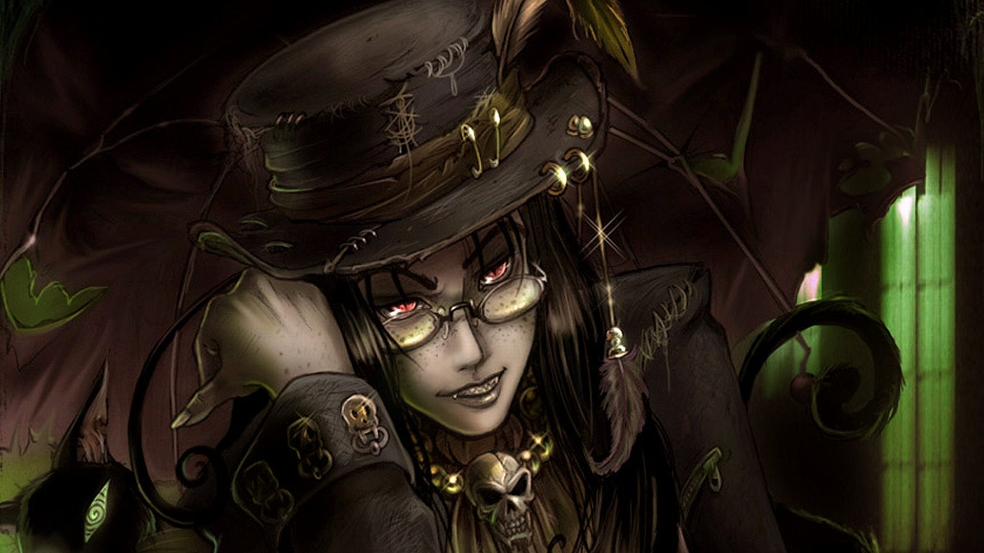 Res: 1920x1080, Gothic Anime HD Image. Click on the image to view full size and download.