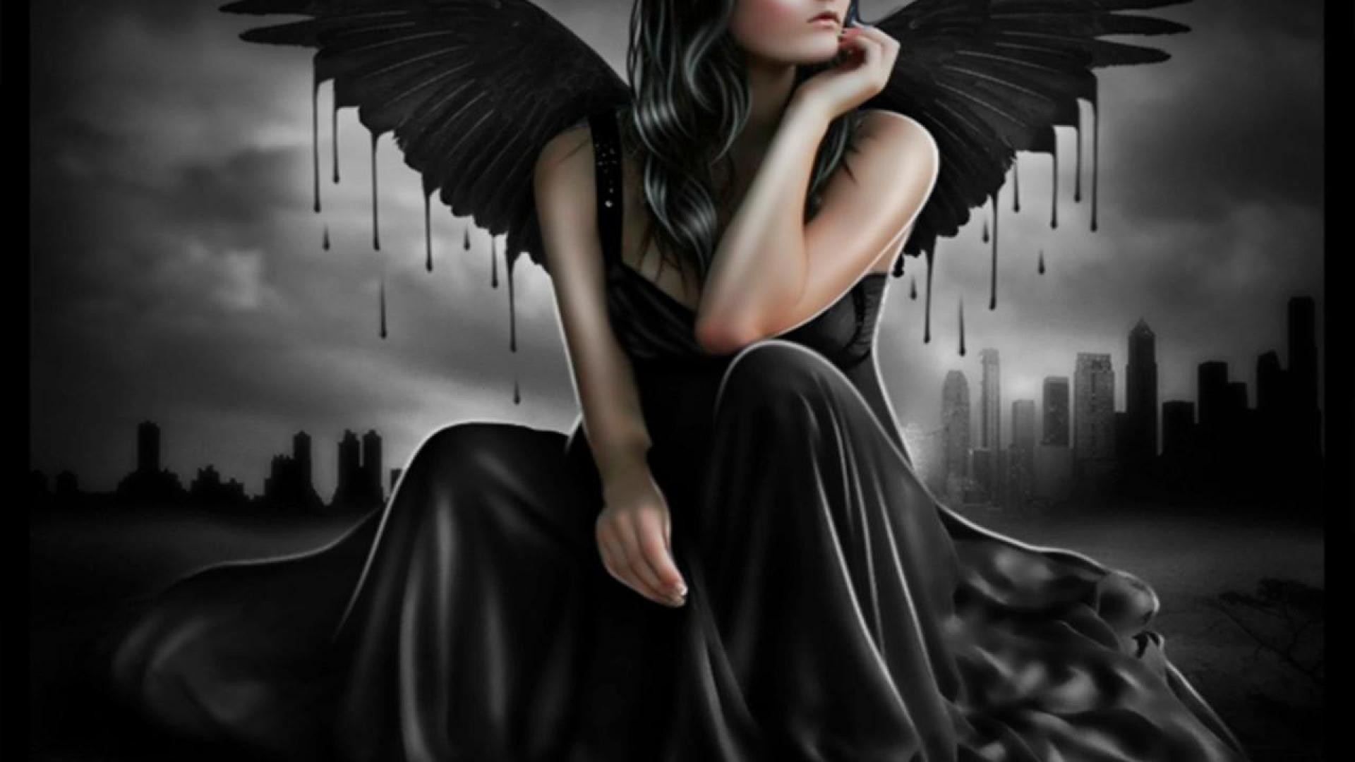 Res: 1920x1080, Awesome Gothic Angels HD Wallpaper Pack 69 » Free Download