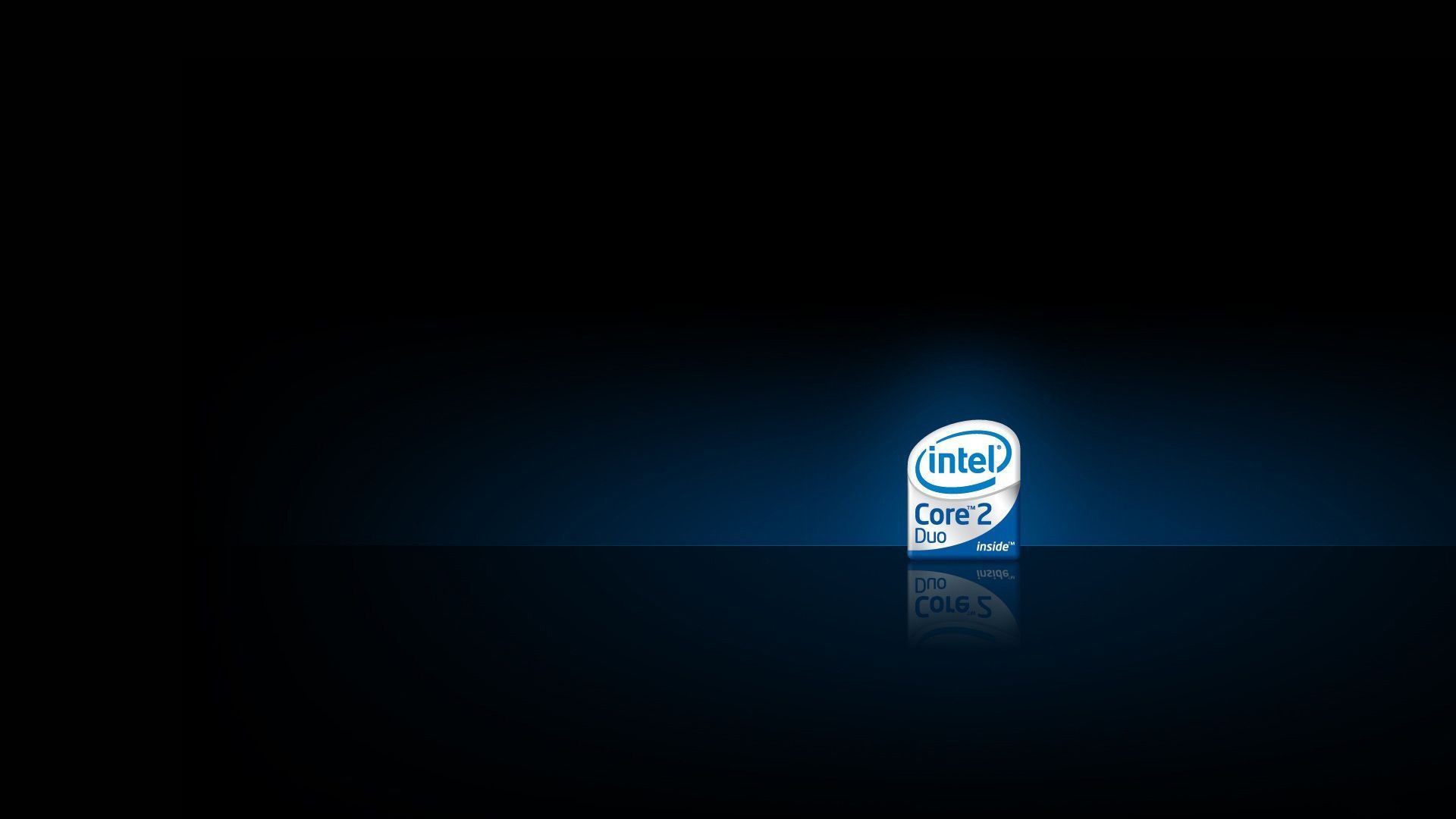Res: 1920x1080, Intel Processor Core 2 Duo Logo Desktop Wallpaper Uploaded by tcherniy