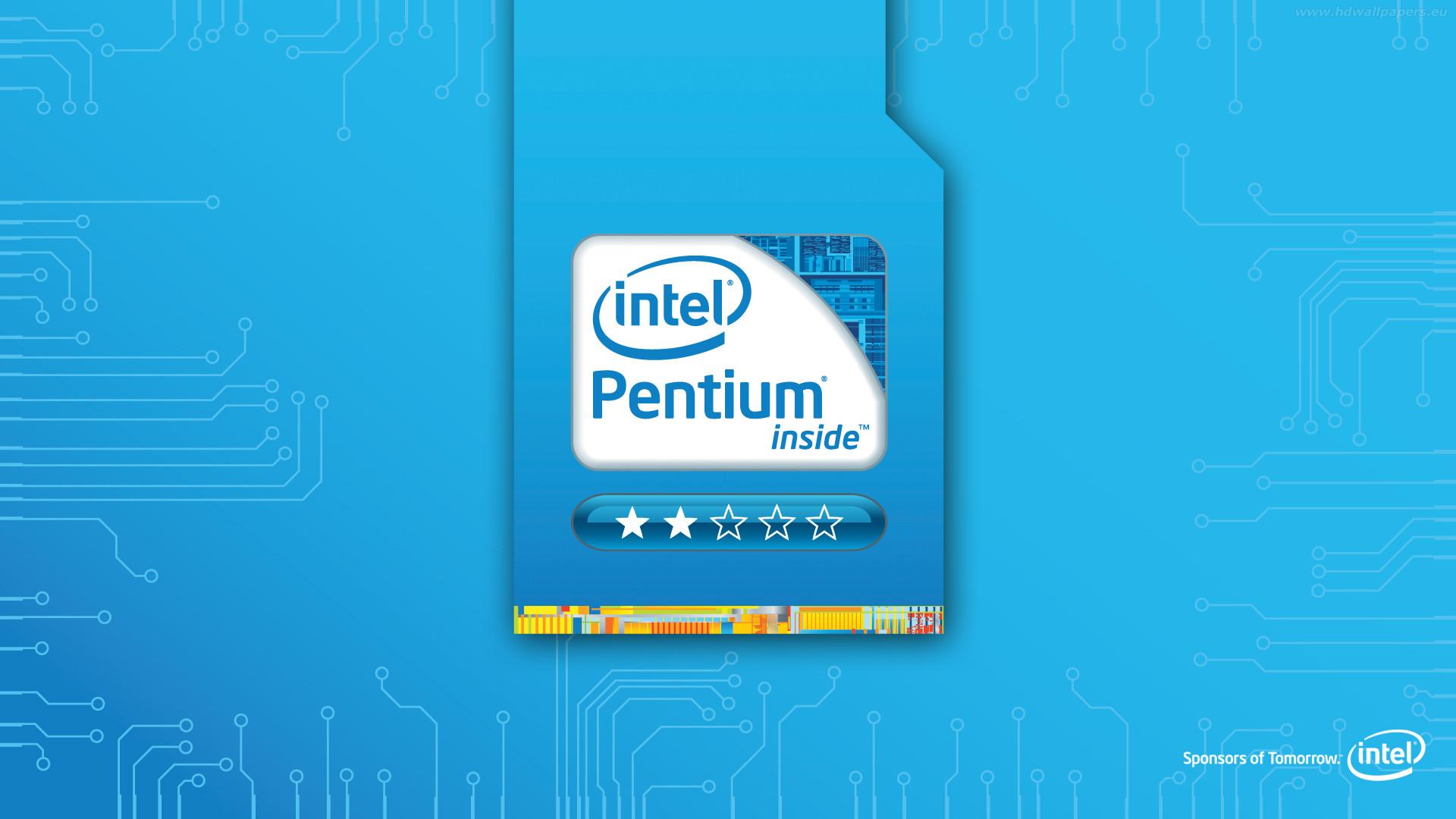 Res: 1920x1080, Intel Pentium Wallpaper