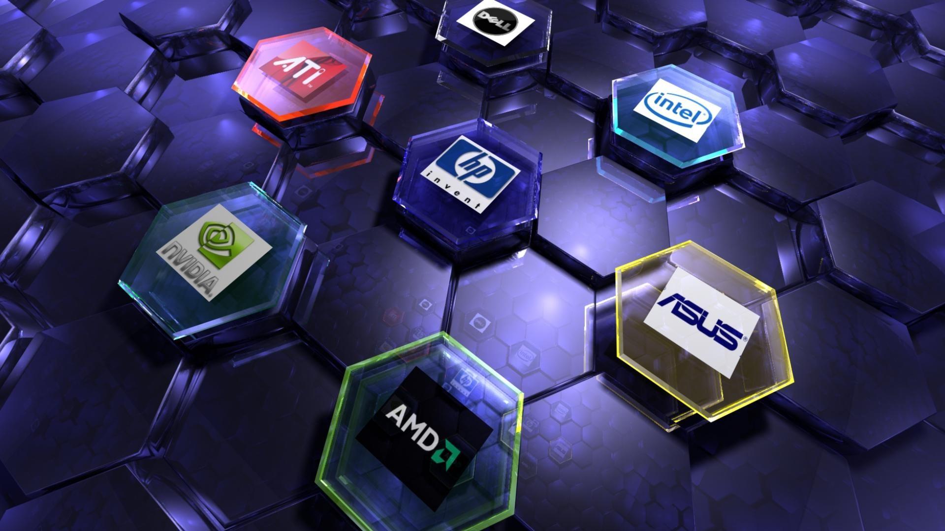 Res: 1920x1080, Intel Amd wallpaper