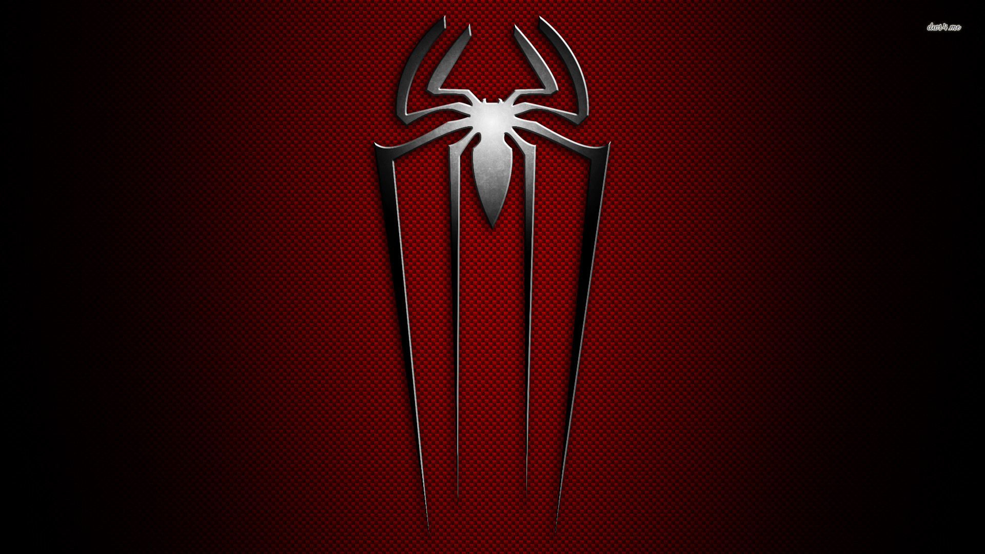 Res: 1920x1080, ... The Amazing Spider-Man metallic logo wallpaper  ...