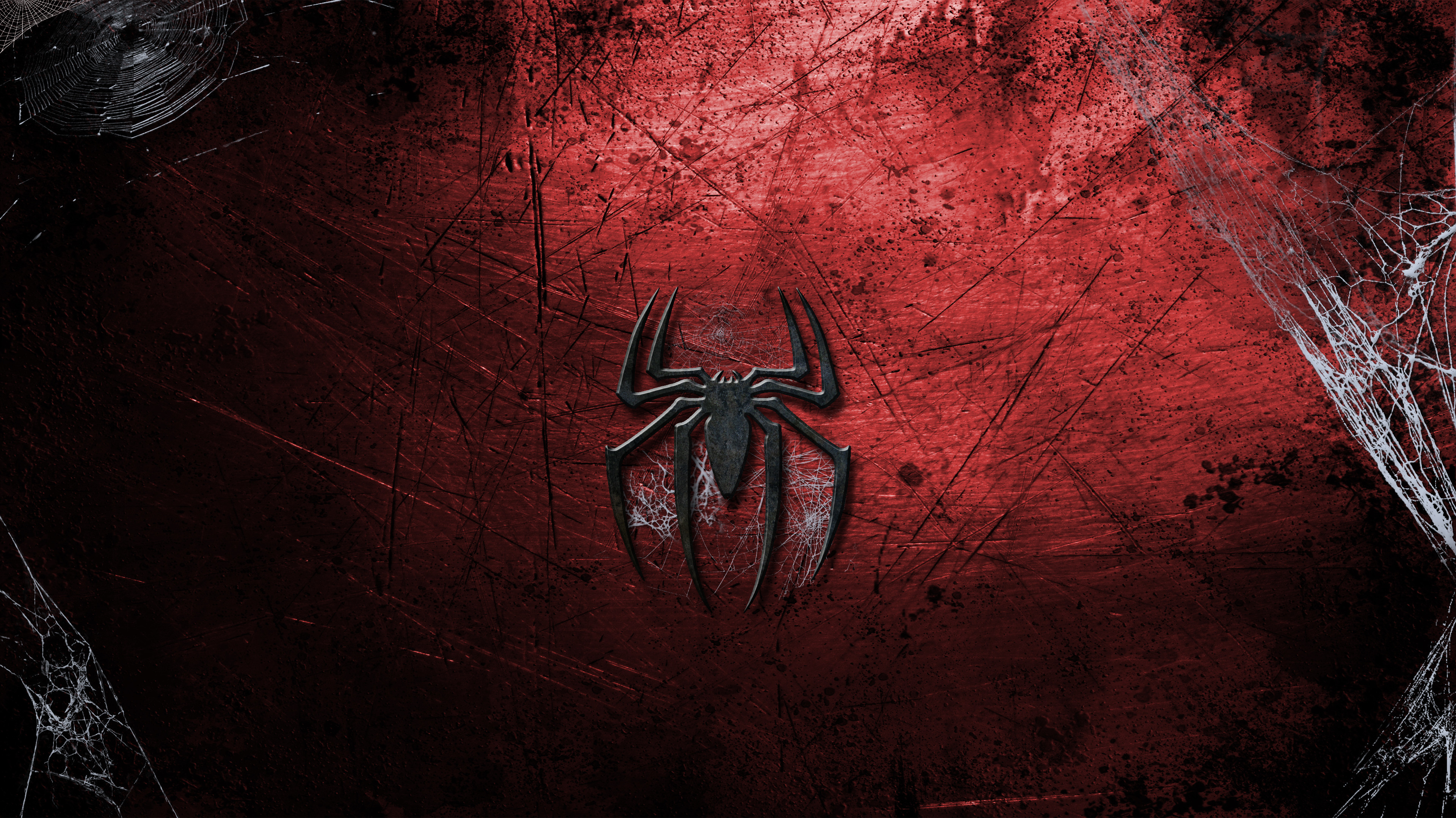 Res: 3840x2160, Spiderman Logo Wallpaper HD Resolution #AQF