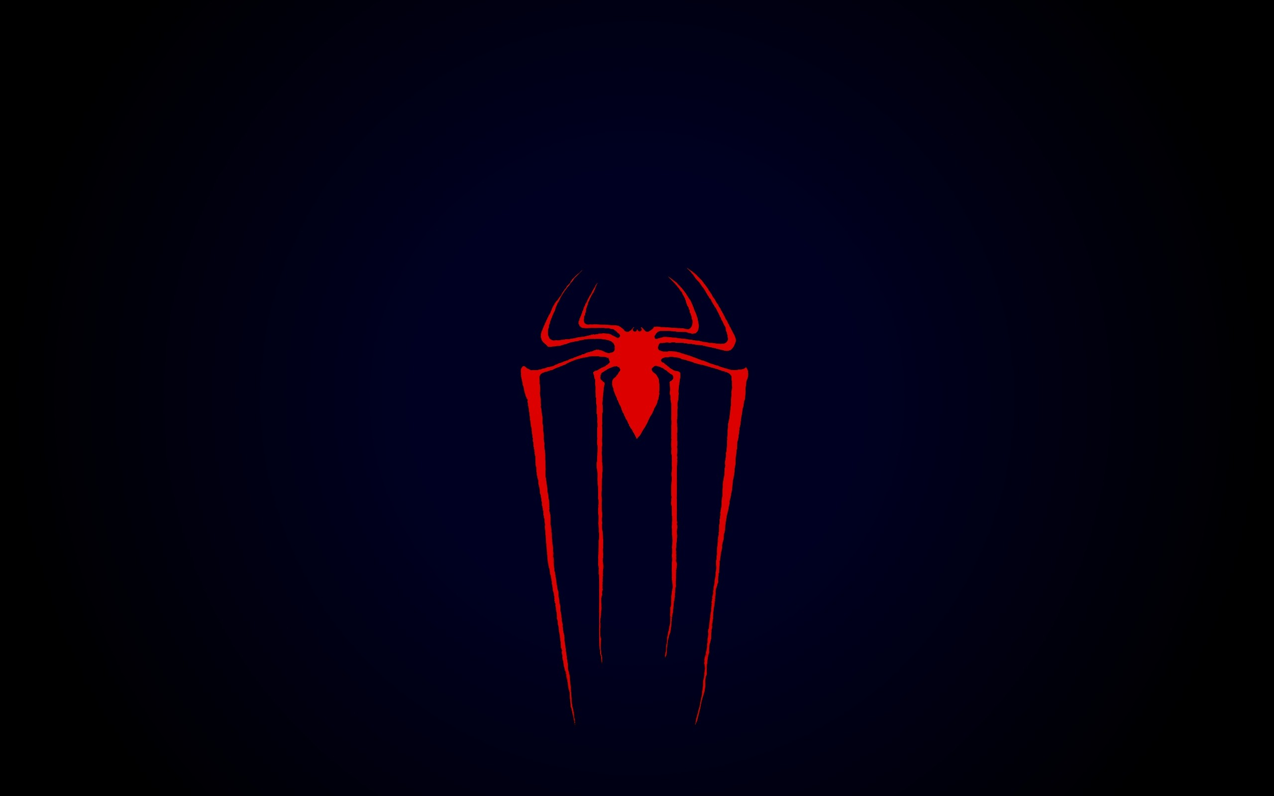 Res: 2560x1600, blue black red spiderman the amazing spiderman spiderman logo Art HD  Wallpaper