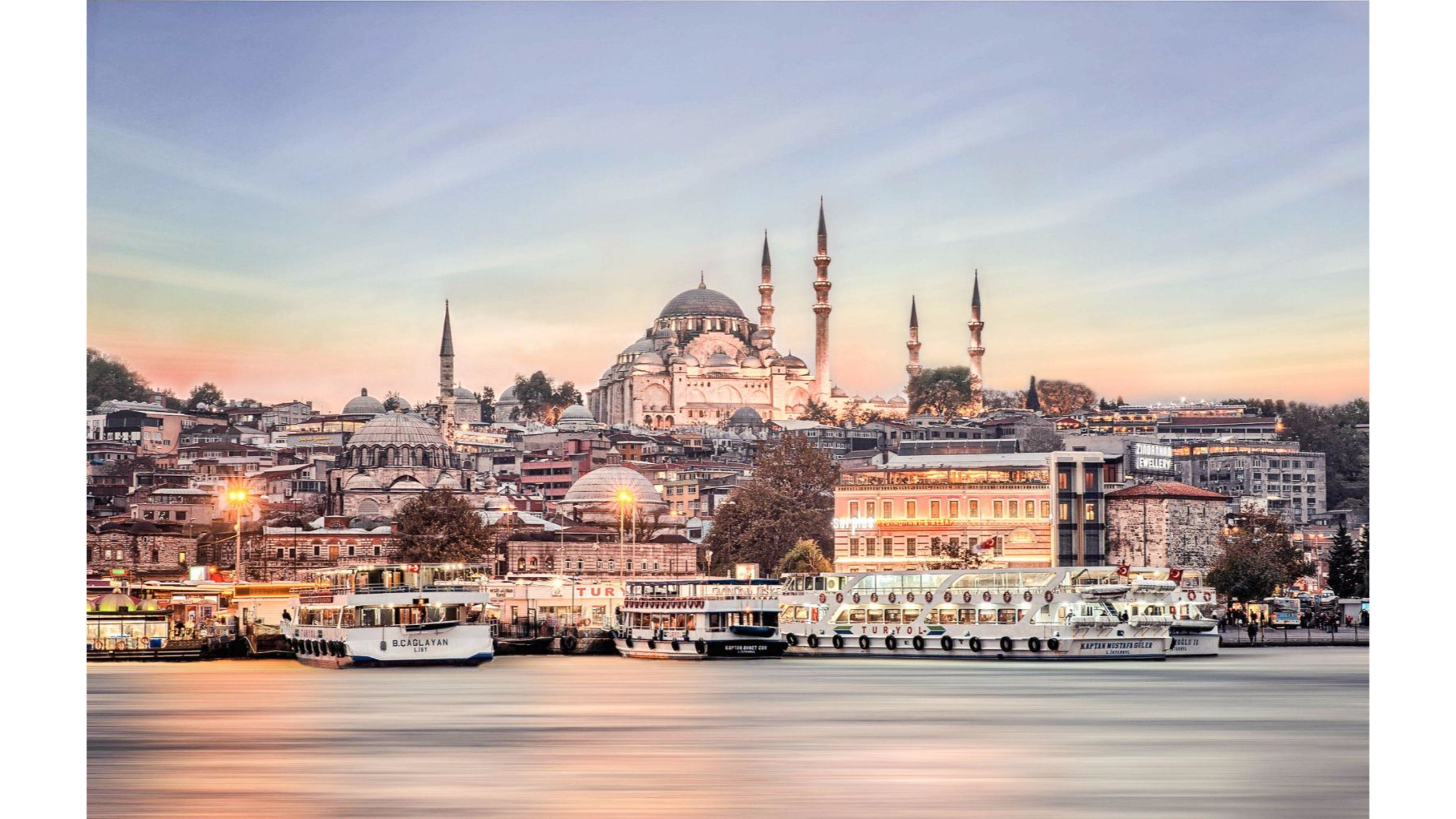 Res: 3840x2160, Istanbul Wallpapers ...